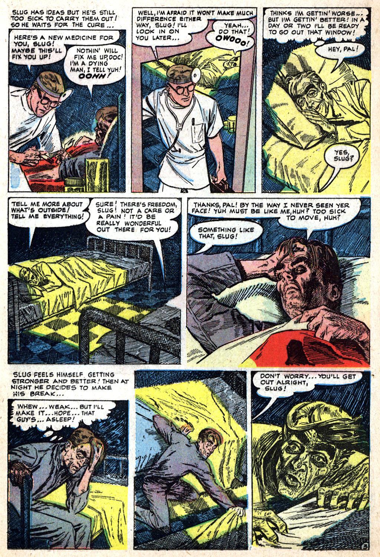 Read online Adventures into Weird Worlds comic -  Issue #17 - 18