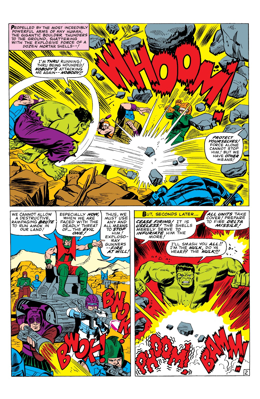Read online Marvel Masterworks: The Incredible Hulk comic -  Issue # TPB 2 (Part 3) - 2