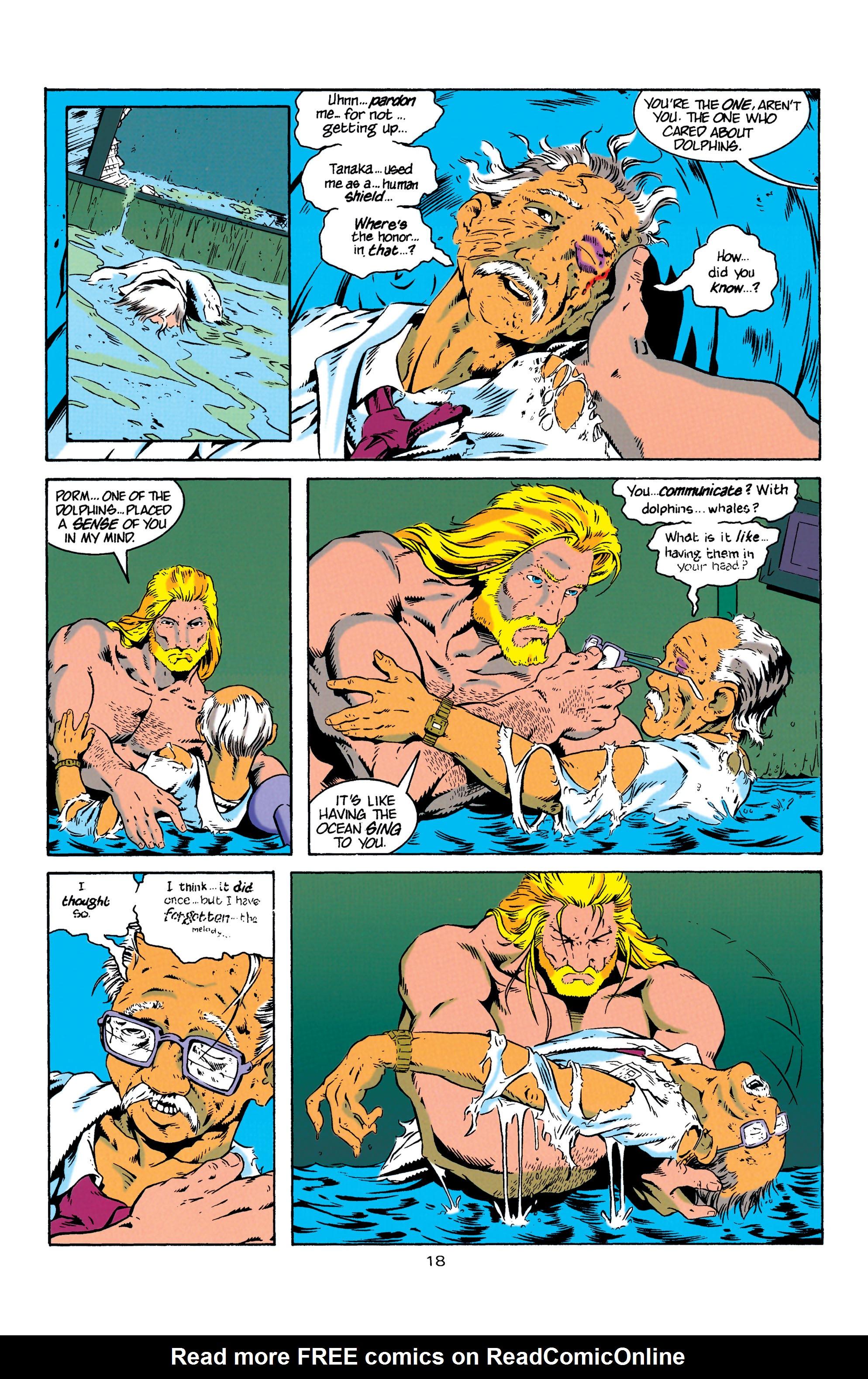 Read online Aquaman (1994) comic -  Issue #4 - 19