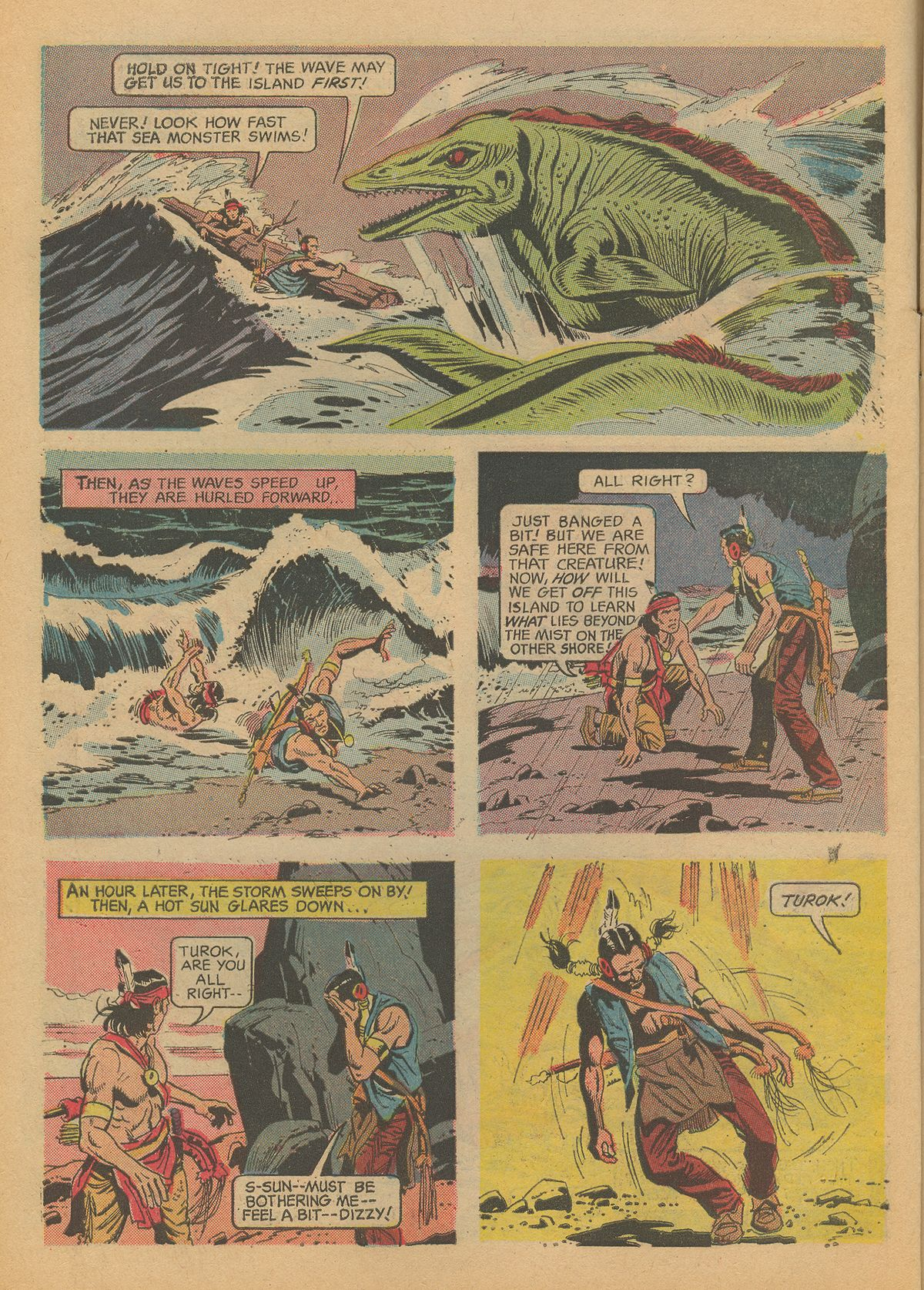 Read online Turok, Son of Stone comic -  Issue #60 - 6