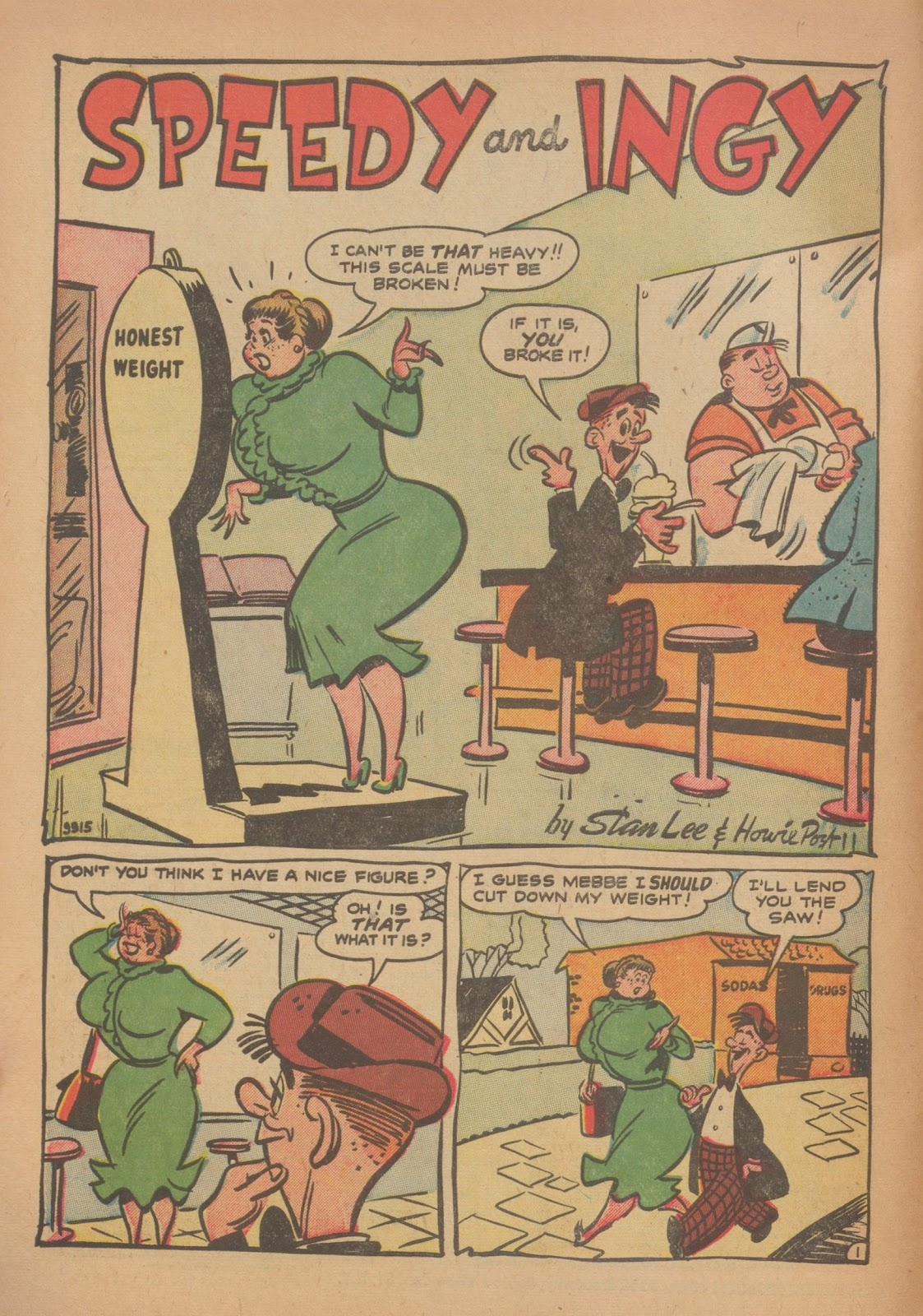 Read online Nellie The Nurse (1945) comic -  Issue #34 - 10