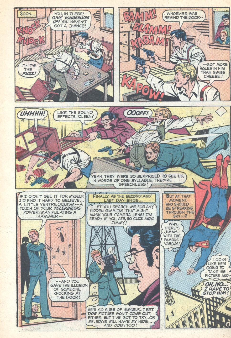 Comic Superman's Pal Jimmy Olsen issue 158