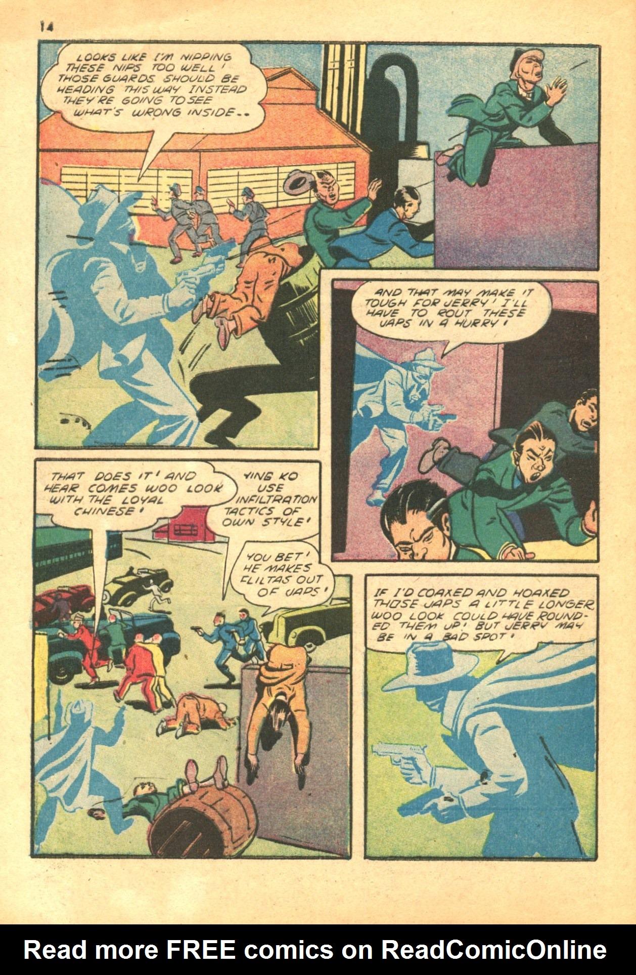 Read online Shadow Comics comic -  Issue #24 - 14