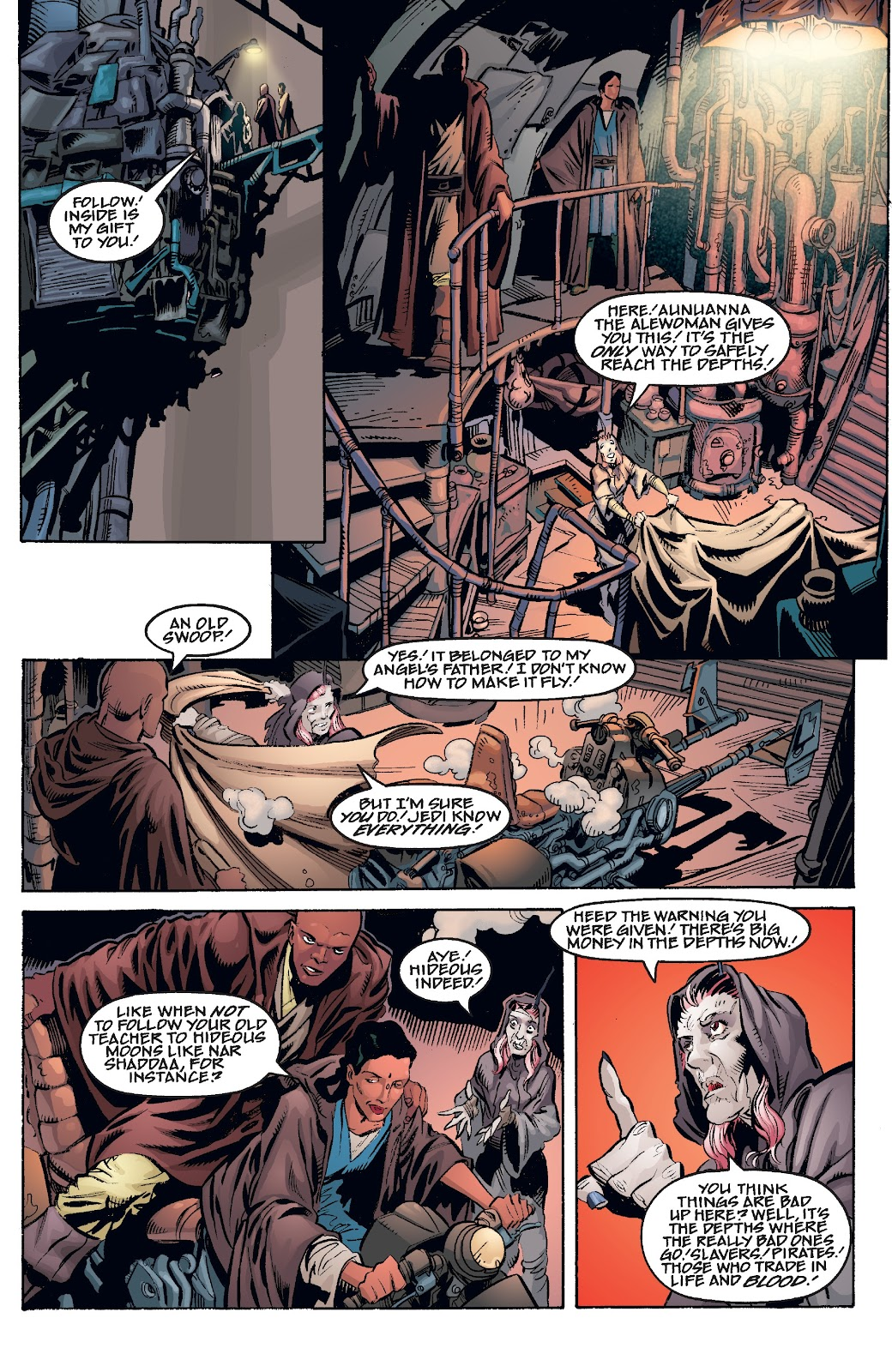 Read online Star Wars Legends Epic Collection: The Menace Revealed comic -  Issue # TPB (Part 4) - 54