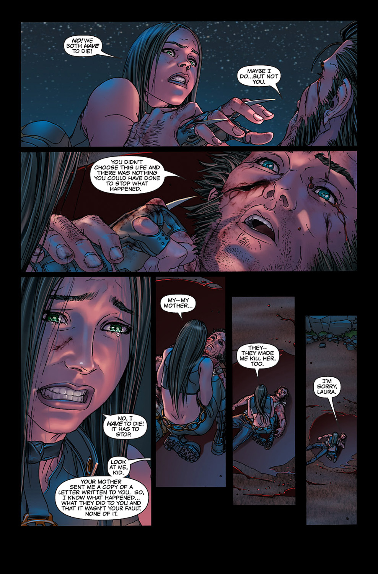 Read online X-23: Target X comic -  Issue #6 - 15