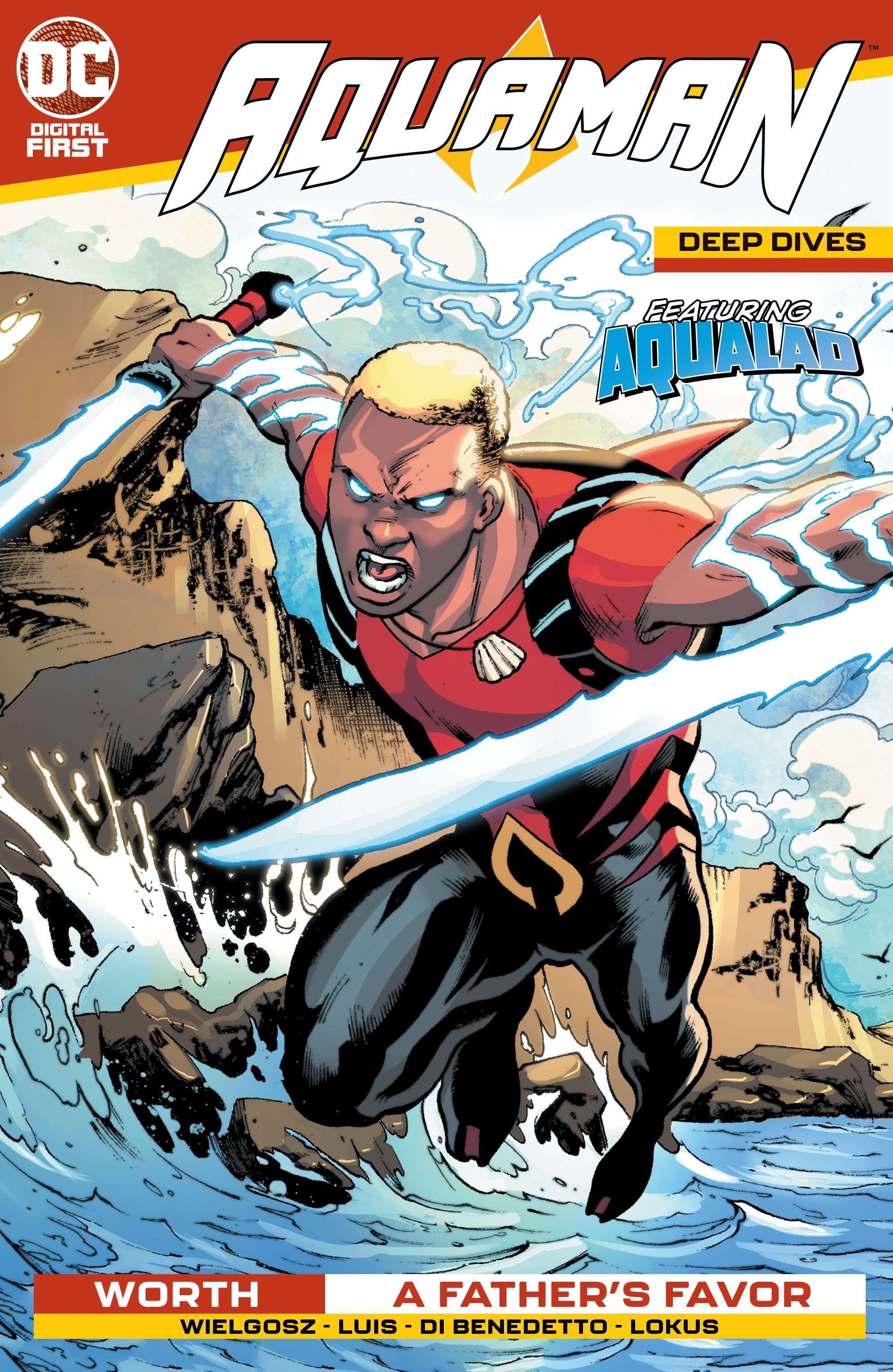 Aquaman: Deep Dives issue 4 - Page 1