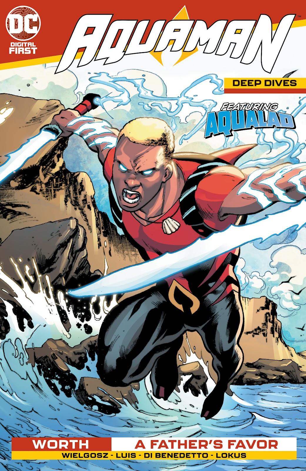 Aquaman: Deep Dives 4 Page 1