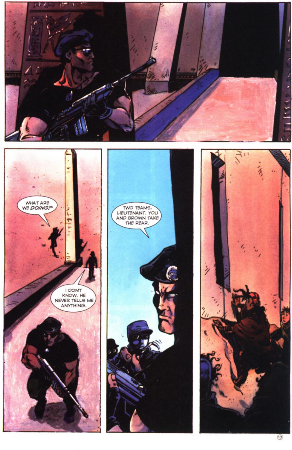 Read online Stargate comic -  Issue #2 - 15