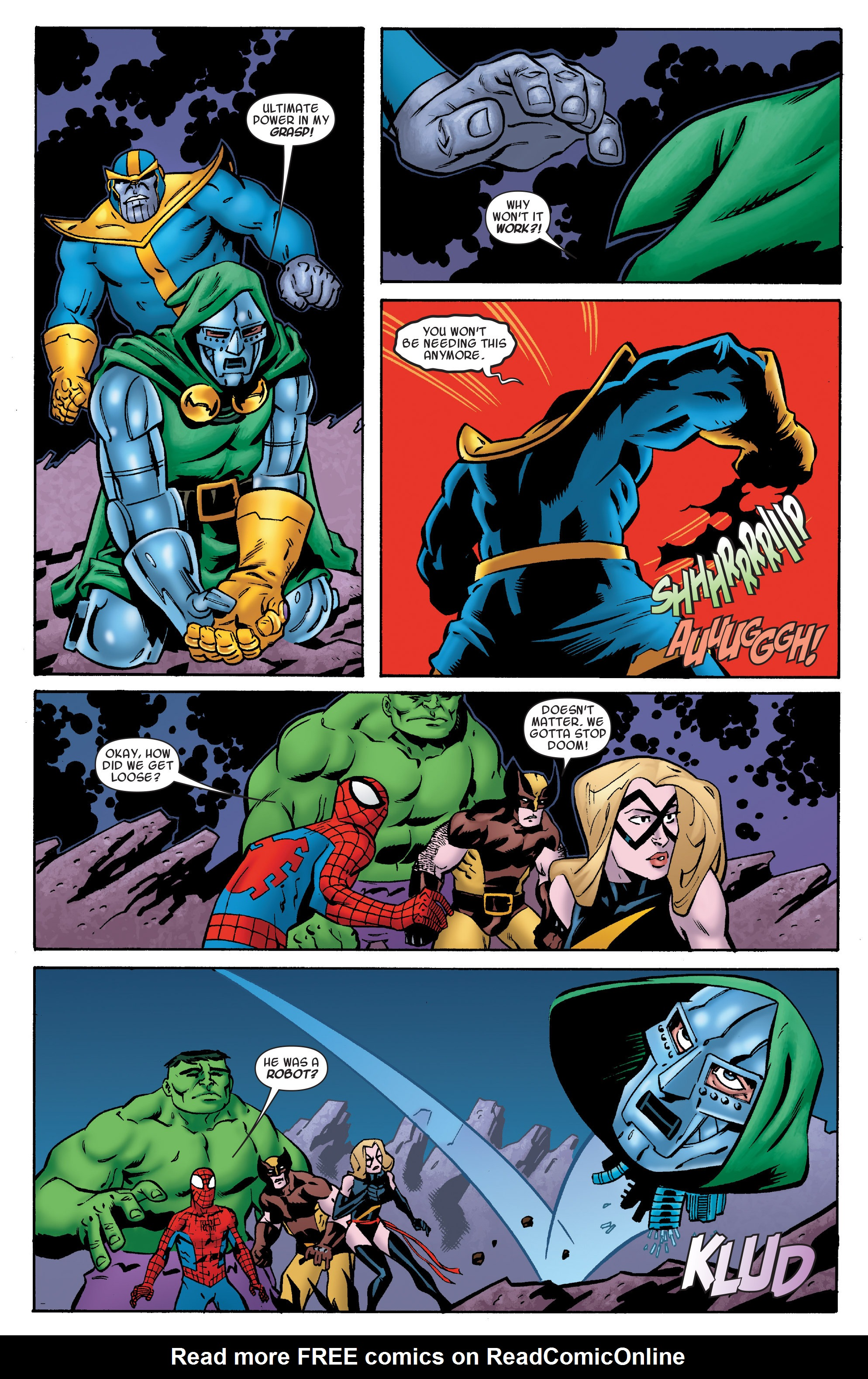 Read online Avengers & the Infinity Gauntlet comic -  Issue #4 - 14