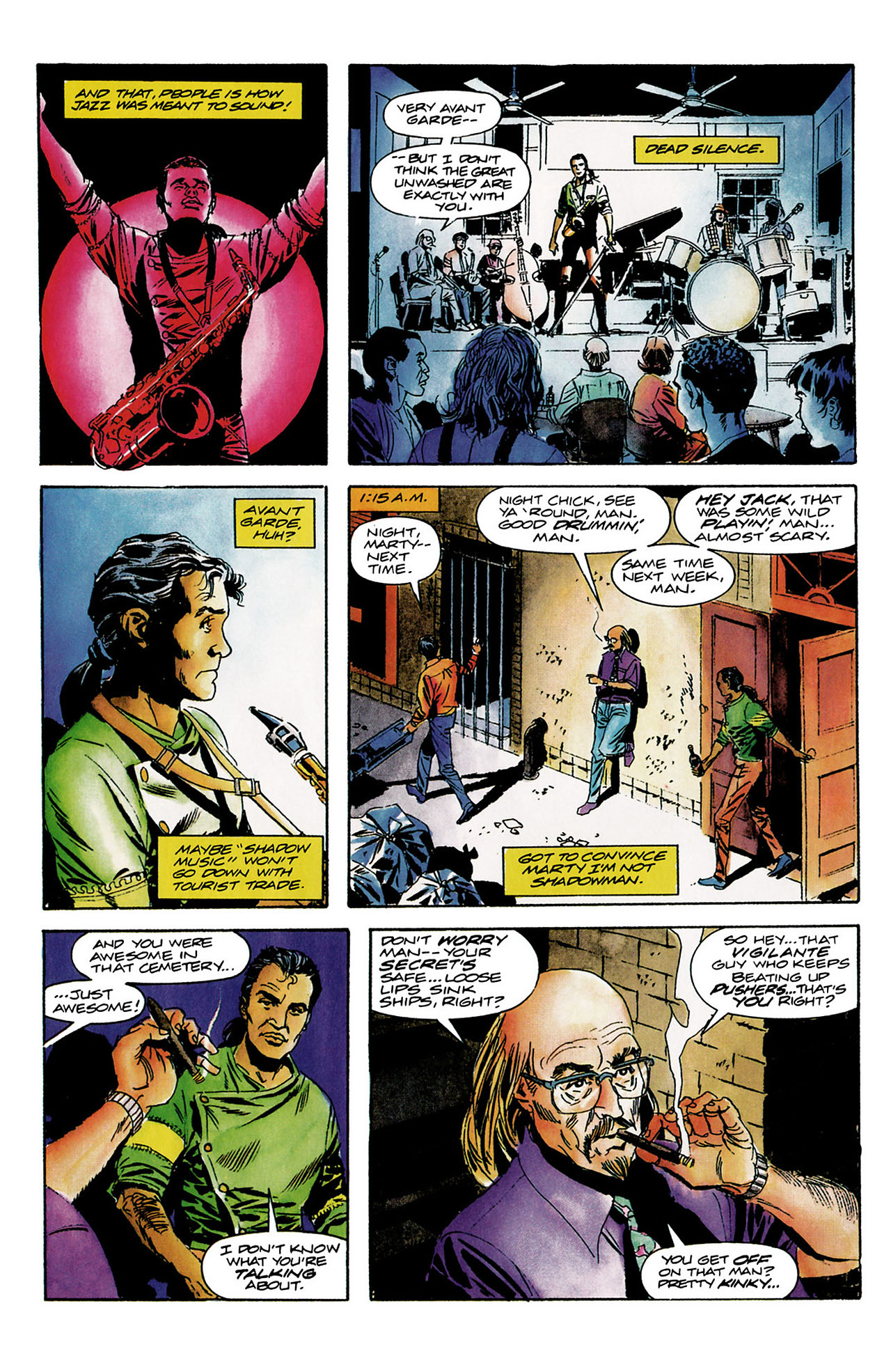 Read online Shadowman (1992) comic -  Issue #8 - 8
