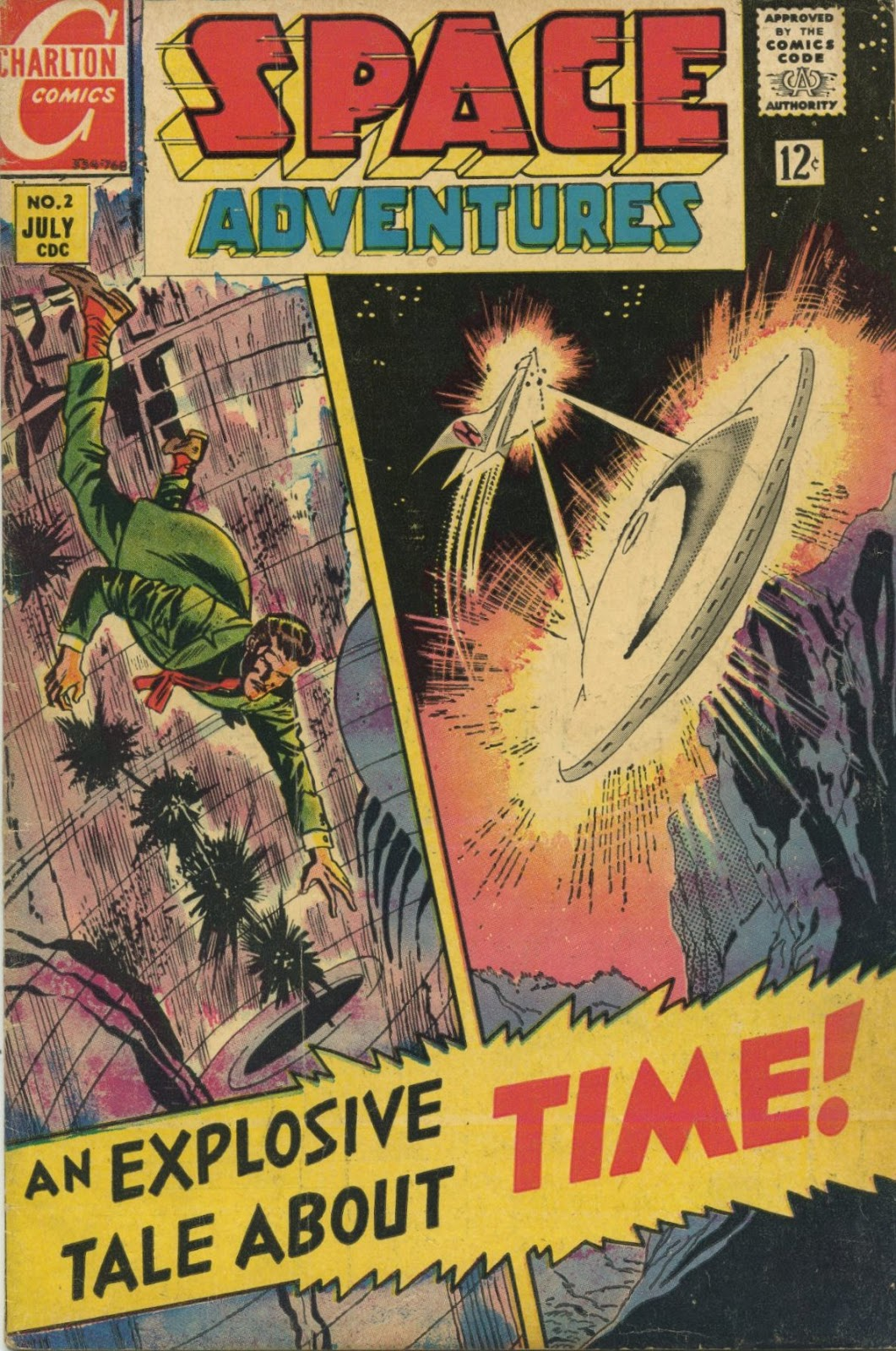 Space Adventures (1968) issue 2 - Page 1