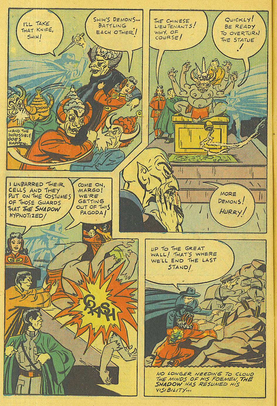 Read online Shadow Comics comic -  Issue #71 - 6