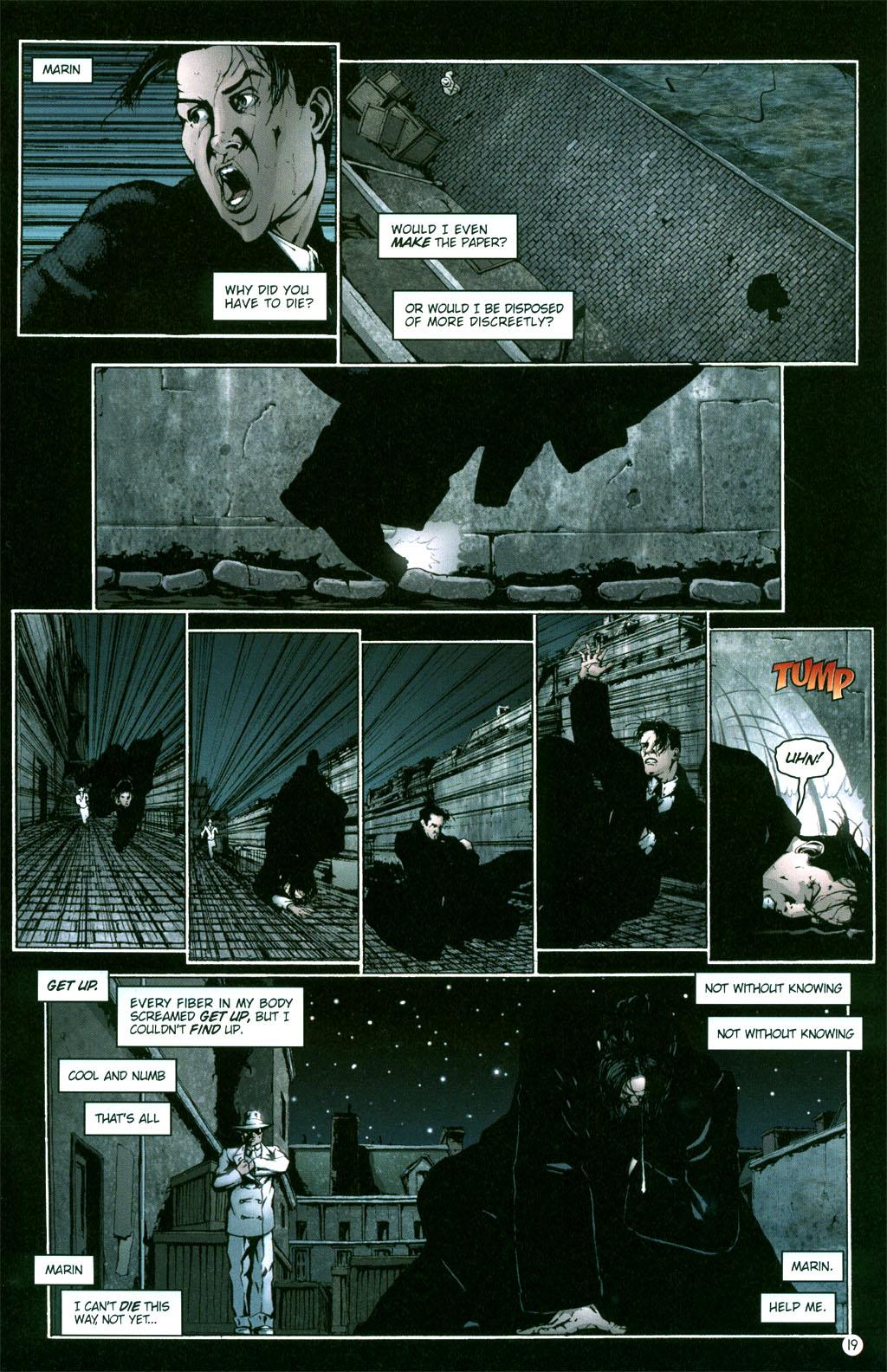 Read online Rex Mundi comic -  Issue #5 - 21