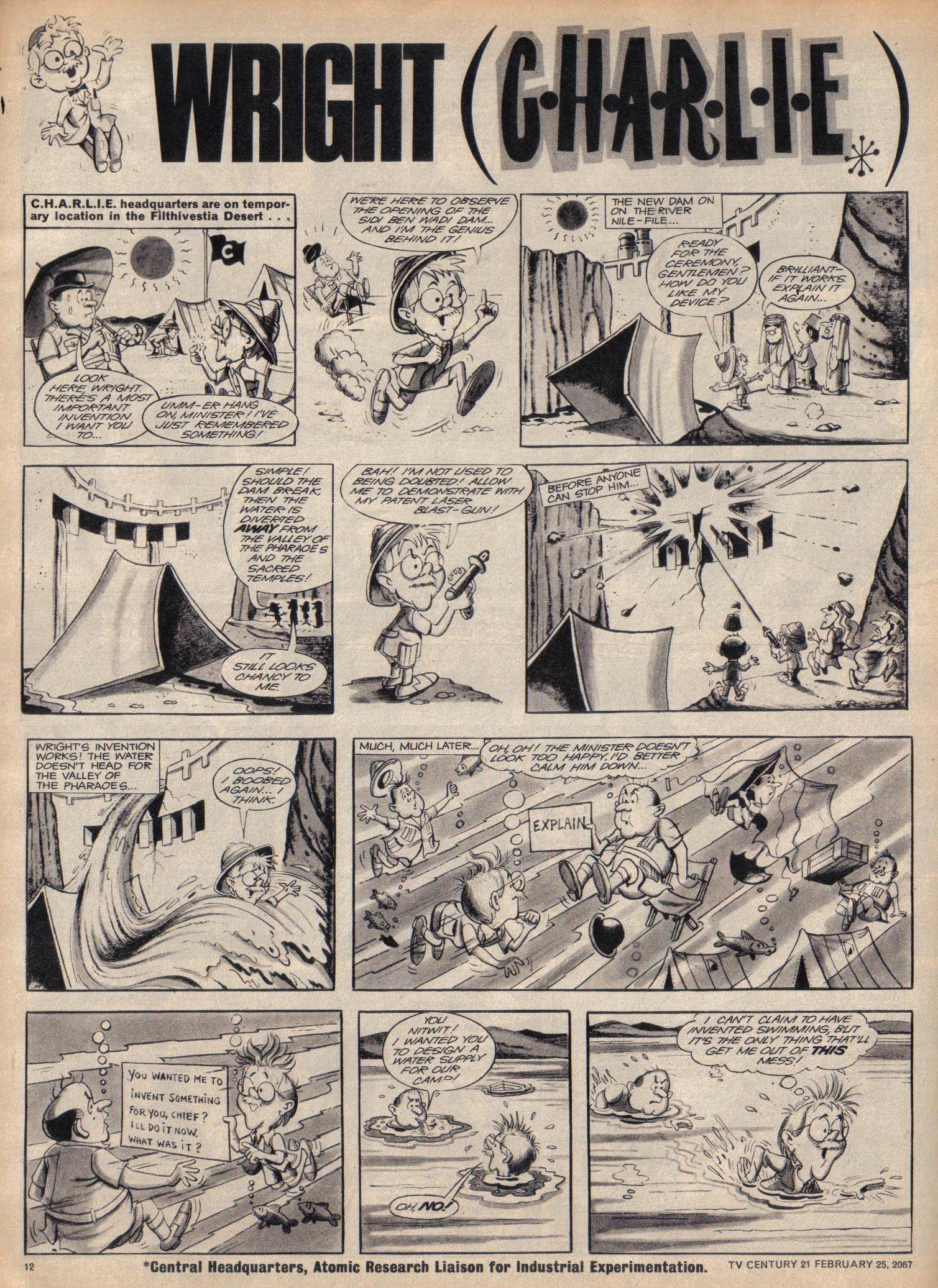 Read online TV Century 21 (TV 21) comic -  Issue #110 - 11