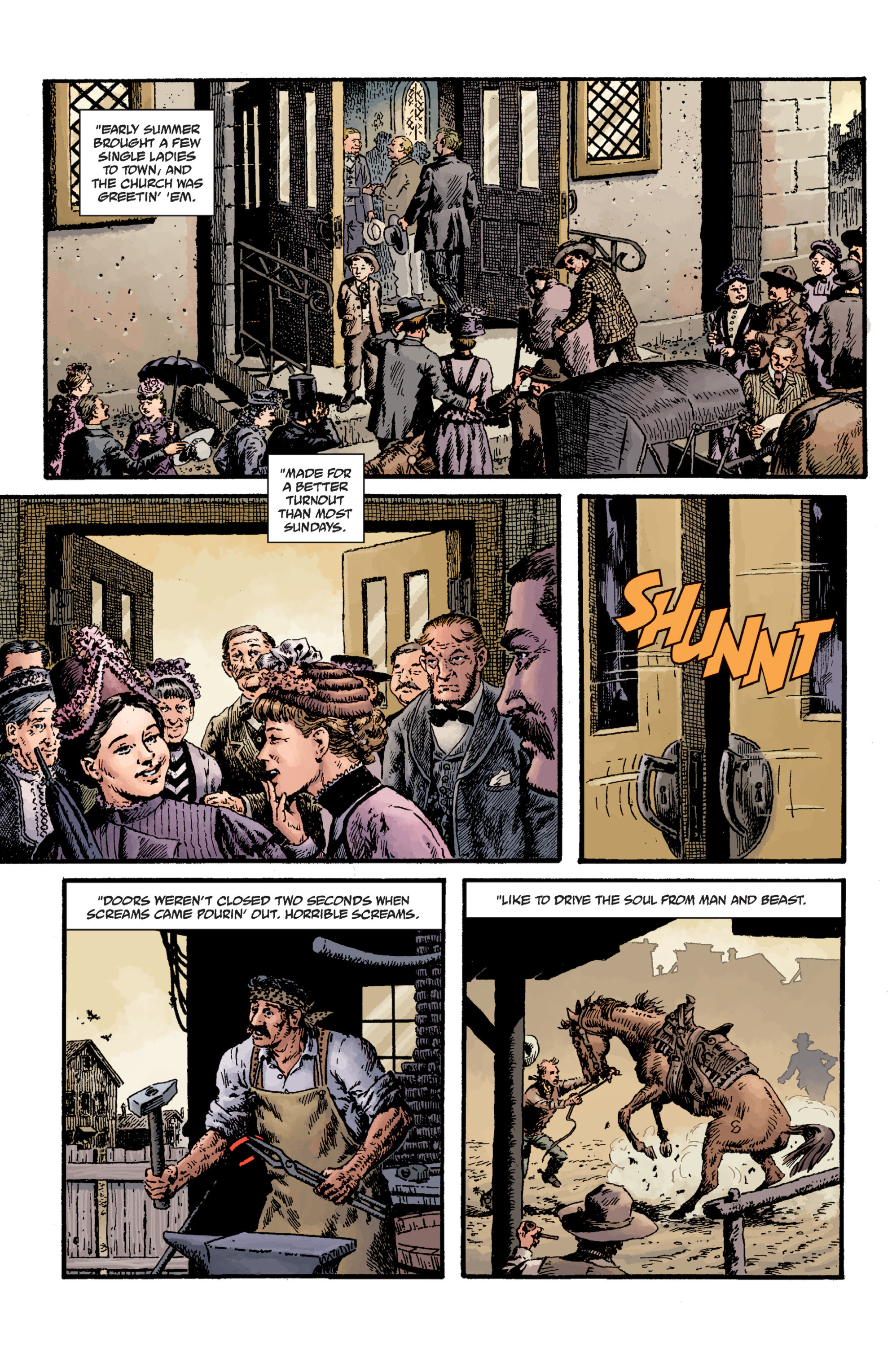 Read online Sir Edward Grey, Witchfinder: Lost and Gone Forever comic -  Issue # TPB - 25