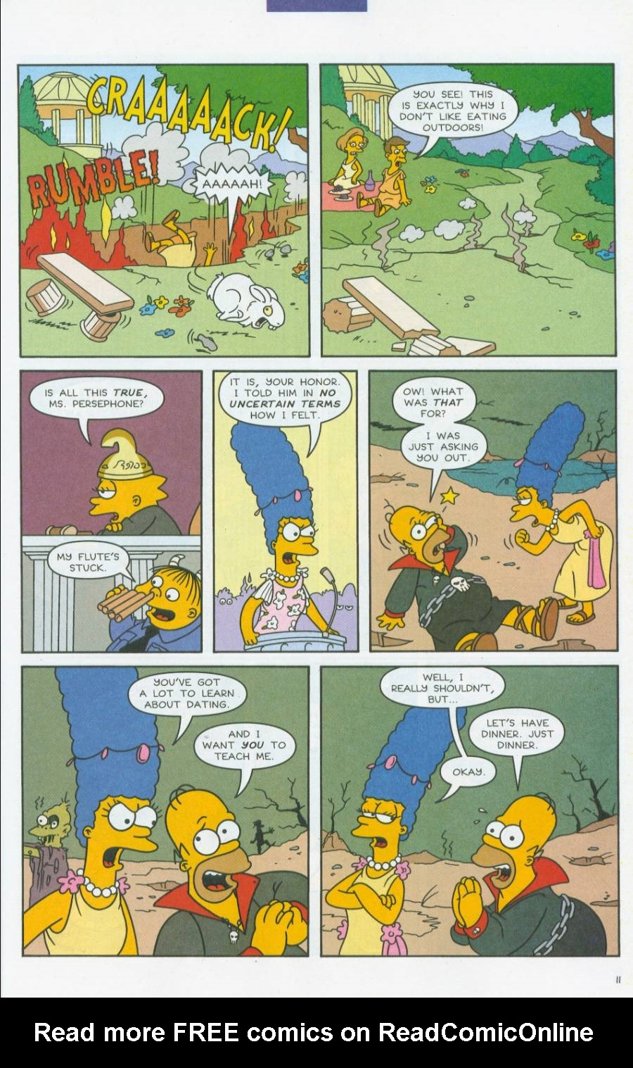 Read online Simpsons Comics comic -  Issue #70 - 12
