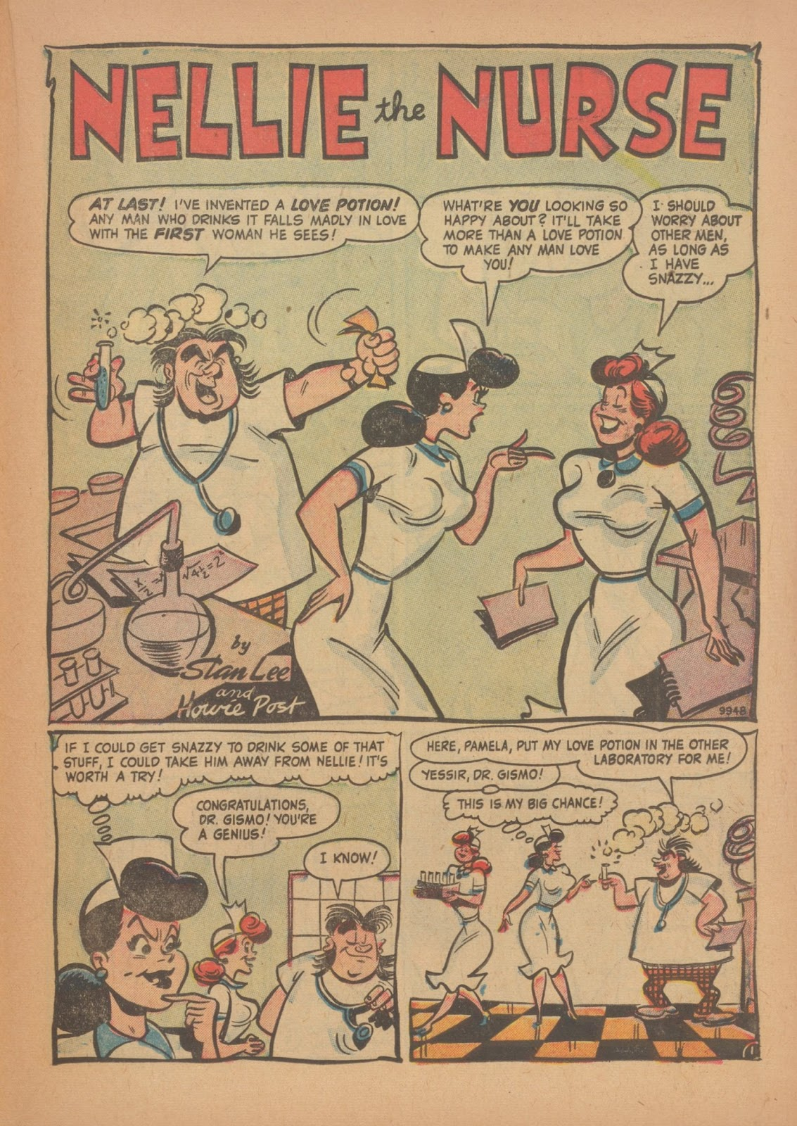 Read online Nellie The Nurse (1945) comic -  Issue #34 - 23