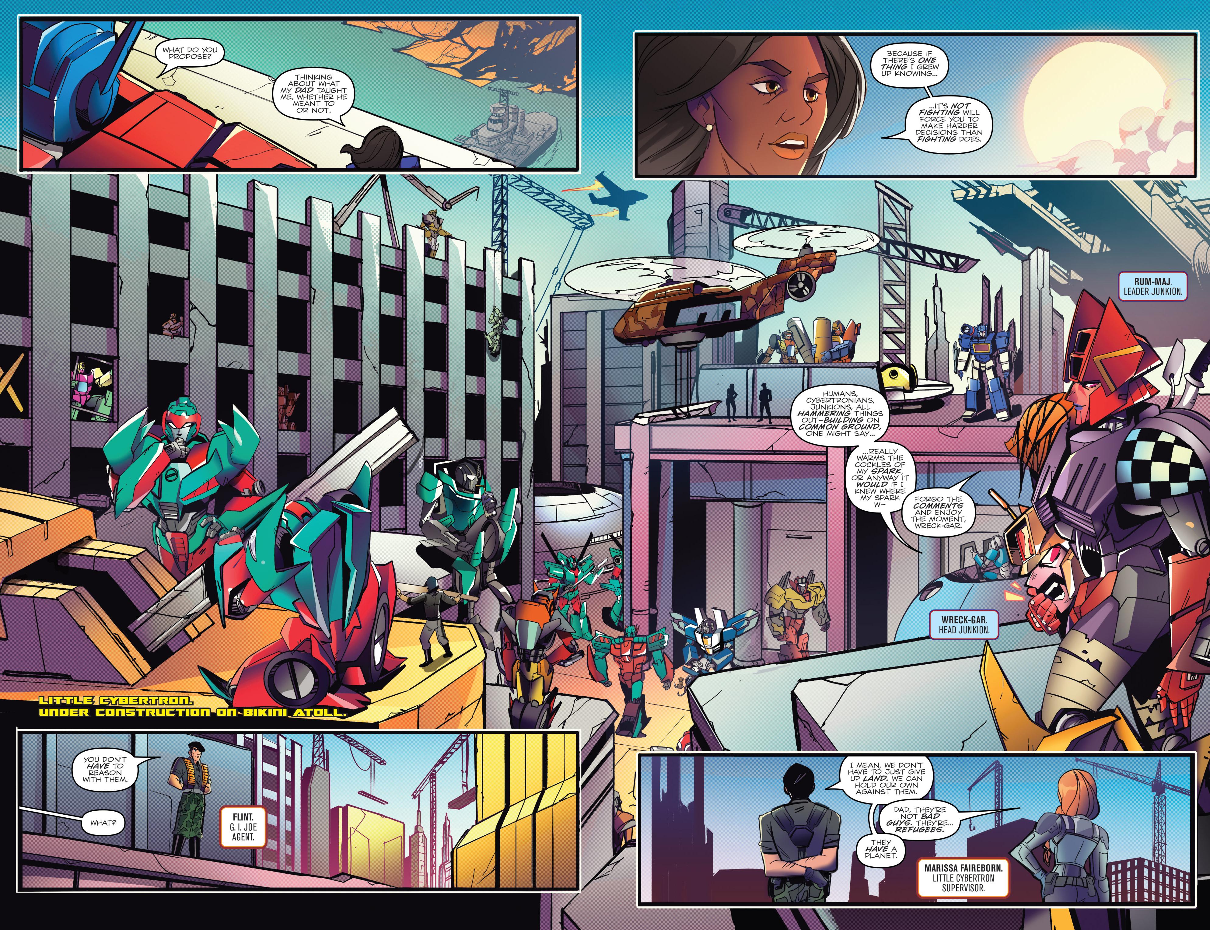 Read online Optimus Prime comic -  Issue #7 - 14