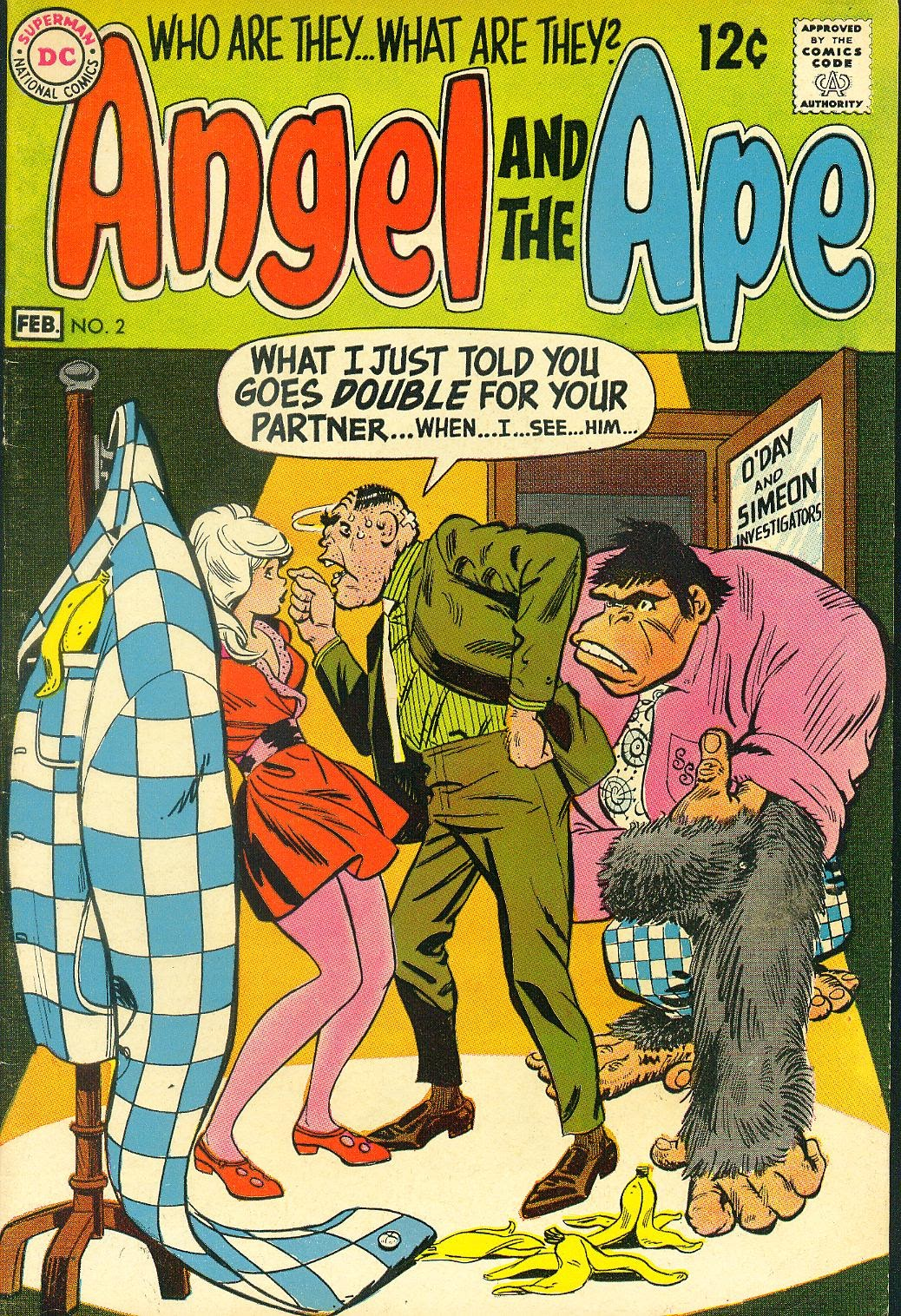 Angel And The Ape (1968) issue 2 - Page 1