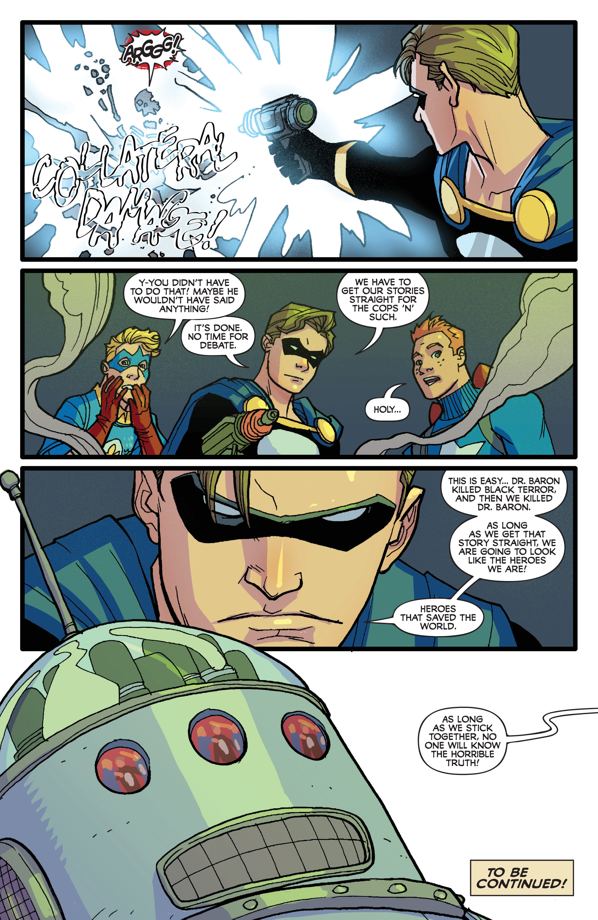Read online Project Superpowers: Hero Killers comic -  Issue #1 - 24