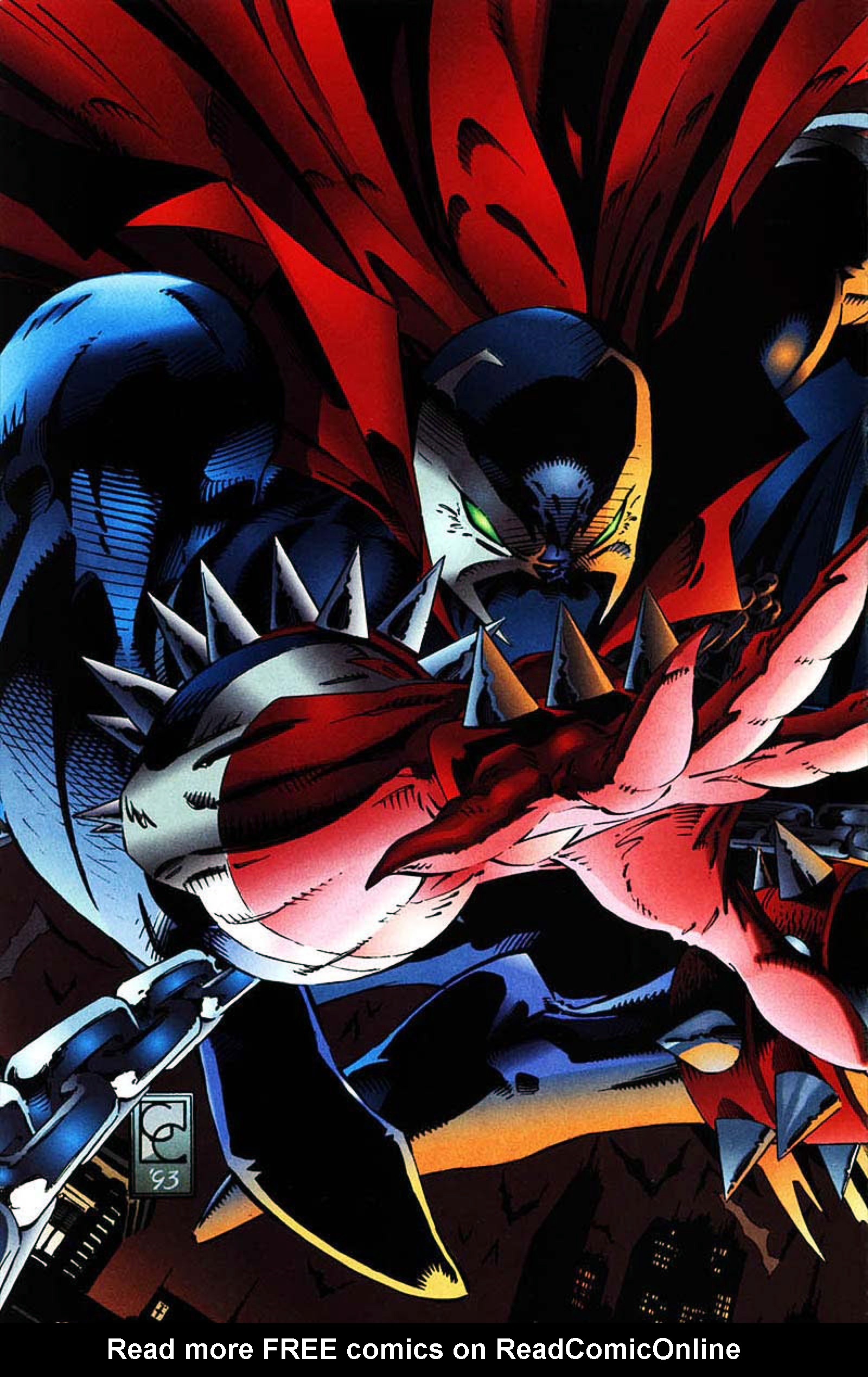 Read online Spawn-Batman comic -  Issue # Full - 56