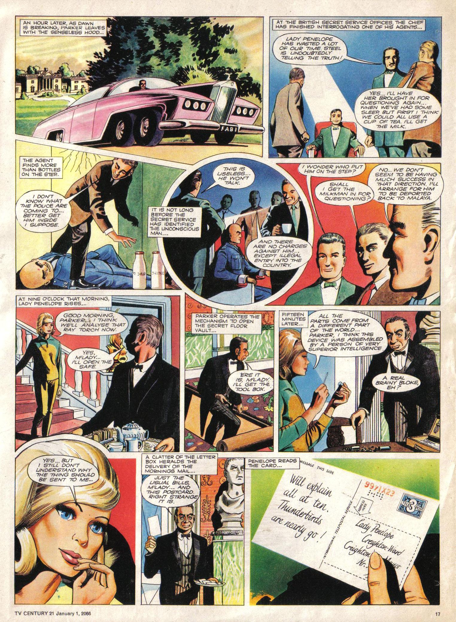 Read online TV Century 21 (TV 21) comic -  Issue #50 - 16