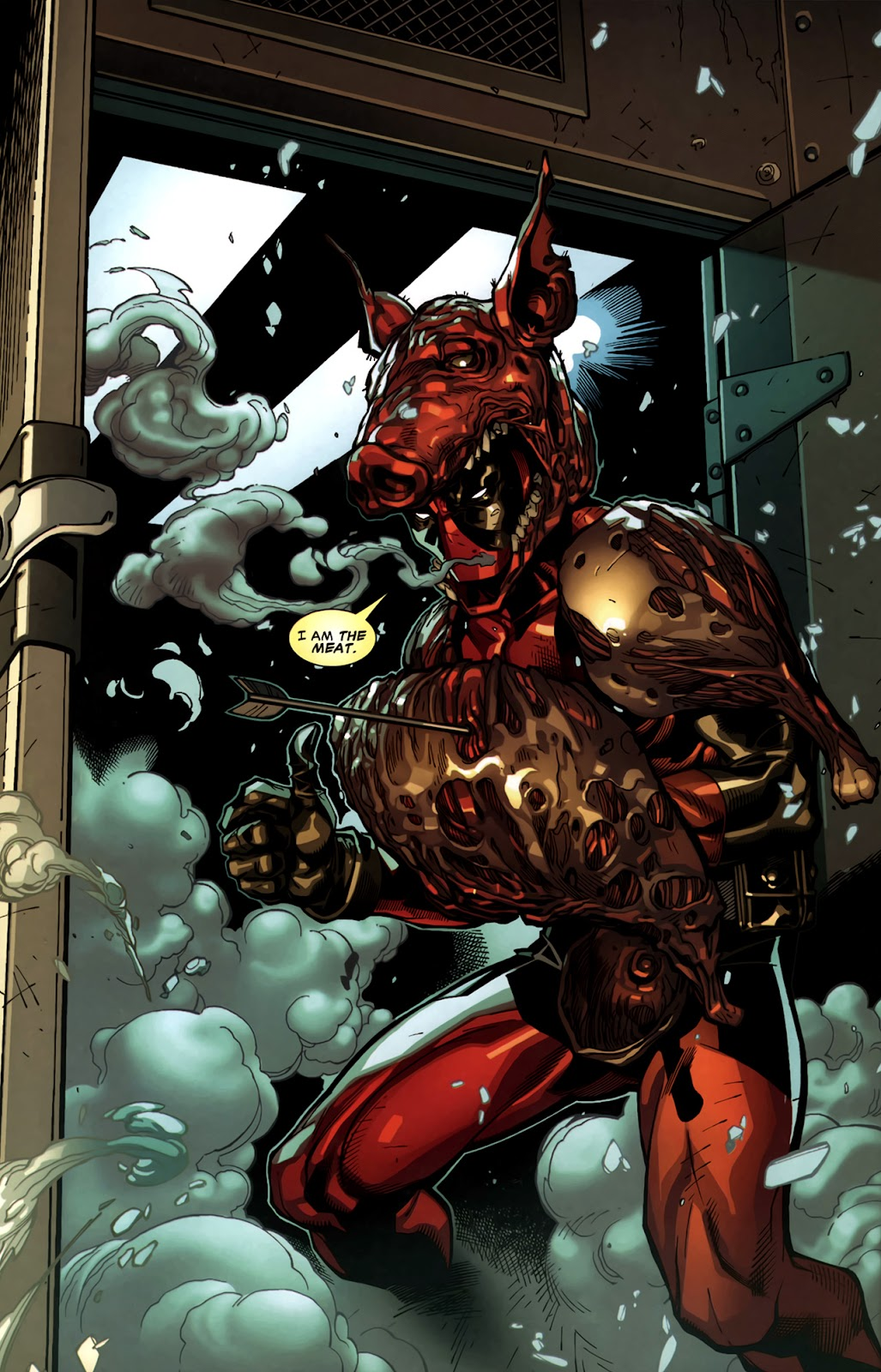 Read online Deadpool (2008) comic -  Issue #11 - 17