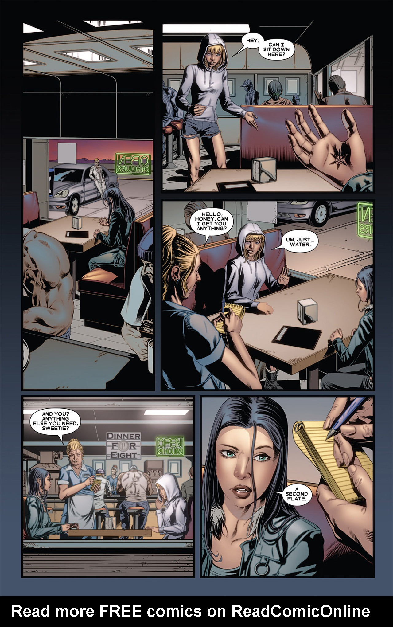 Read online X-23 (2010) comic -  Issue #4 - 6
