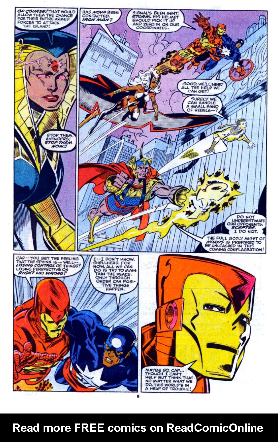The New Warriors Issue #12 #16 - English 7