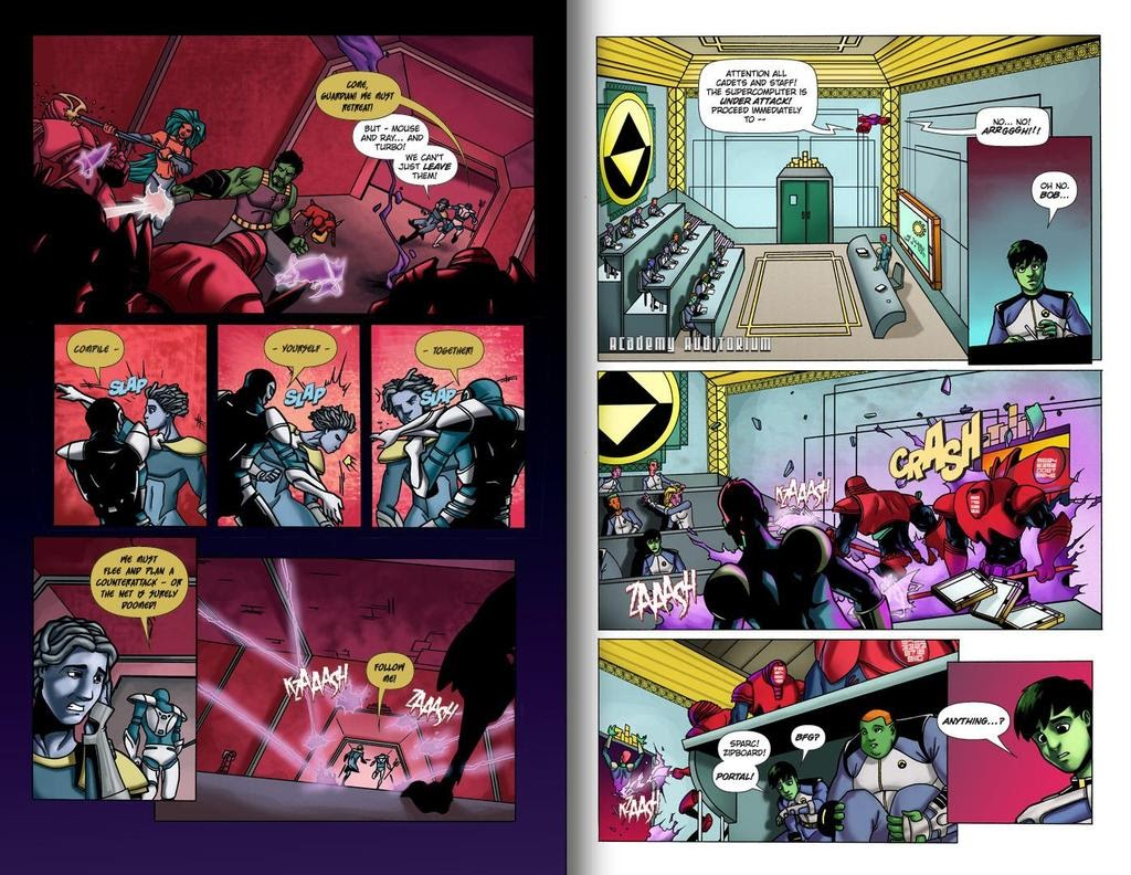 Read online ReBoot: Paradigms Lost comic -  Issue # Full - 19