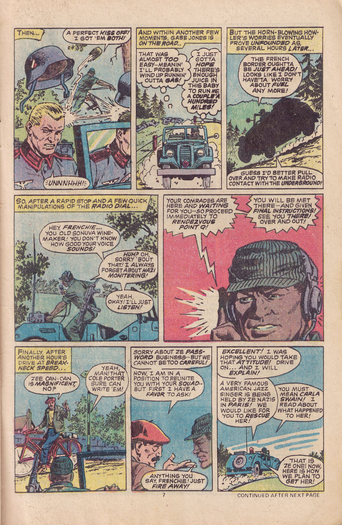 Read online Sgt. Fury comic -  Issue #151 - 9