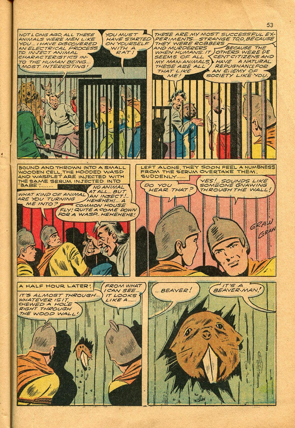 Read online Shadow Comics comic -  Issue #23 - 53