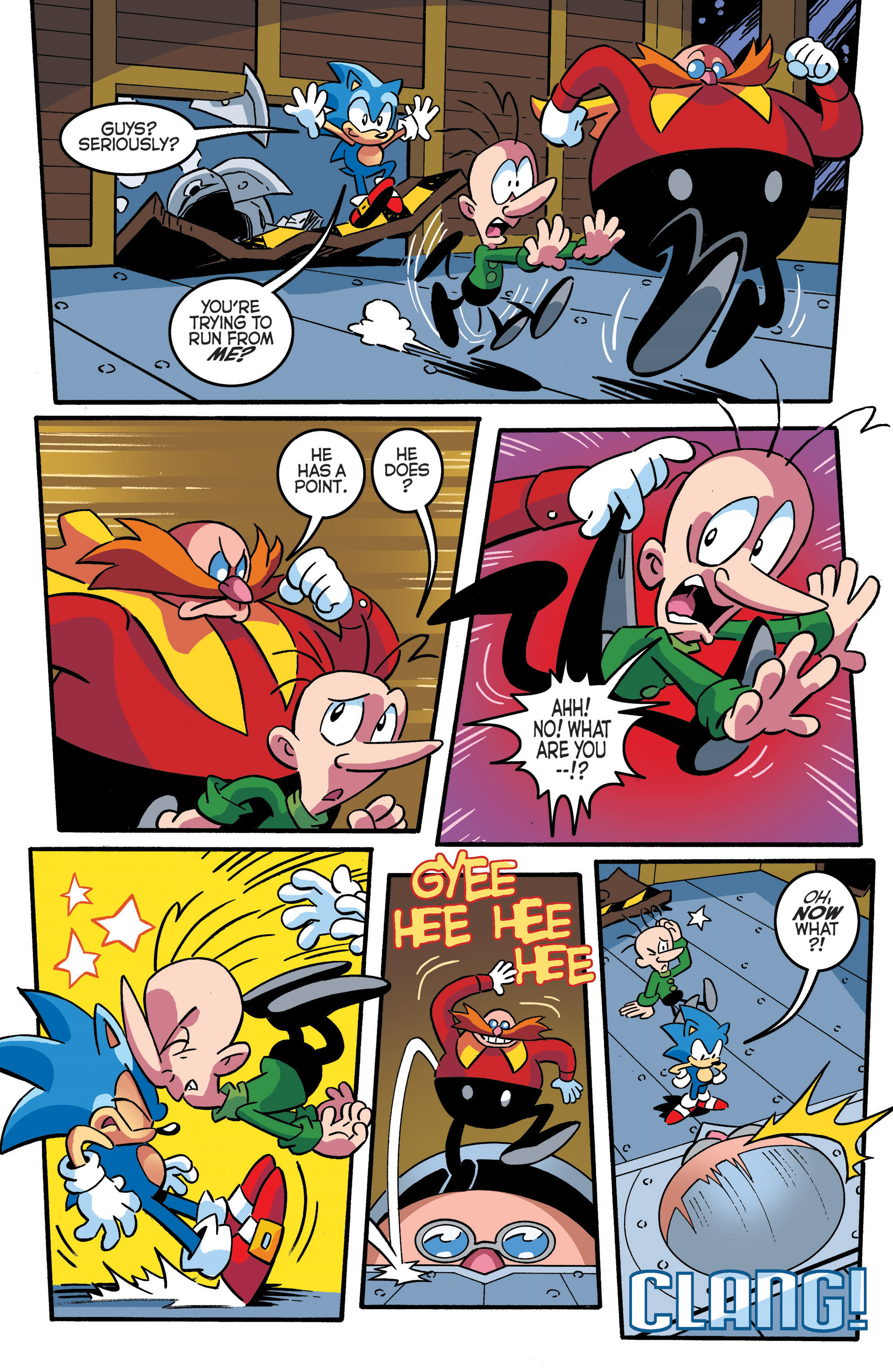 Read online Sonic The Hedgehog comic -  Issue #289 - 21