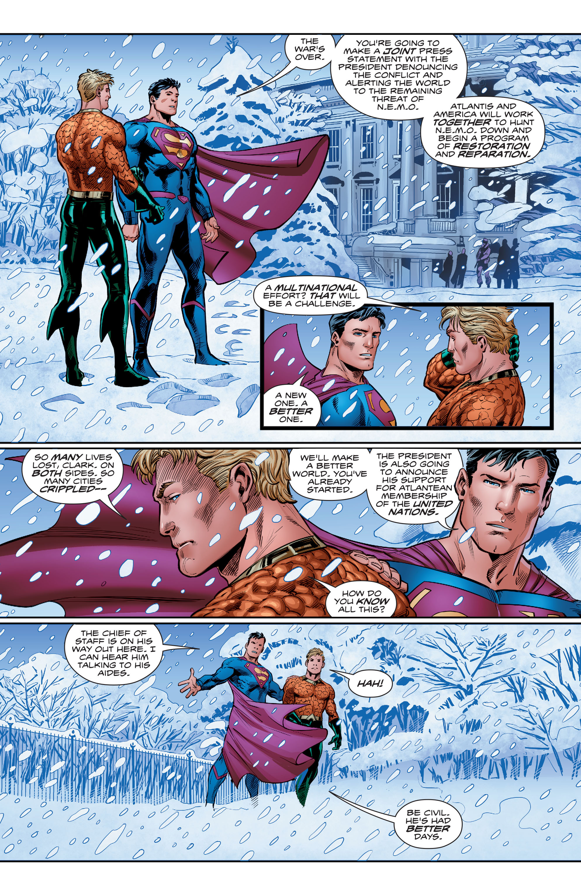 Read online Aquaman (2016) comic -  Issue #15 - 19