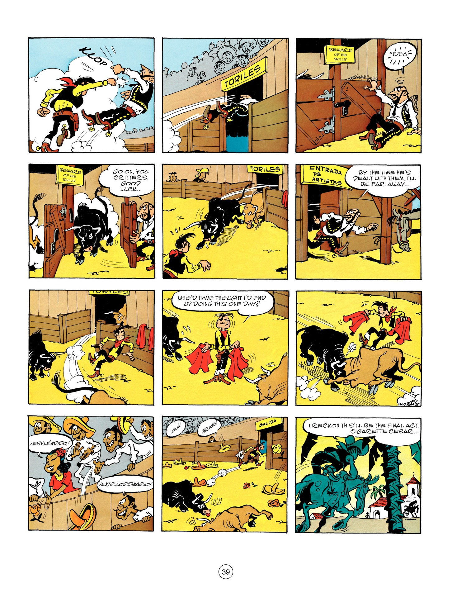 Read online A Lucky Luke Adventure comic -  Issue #55 - 39
