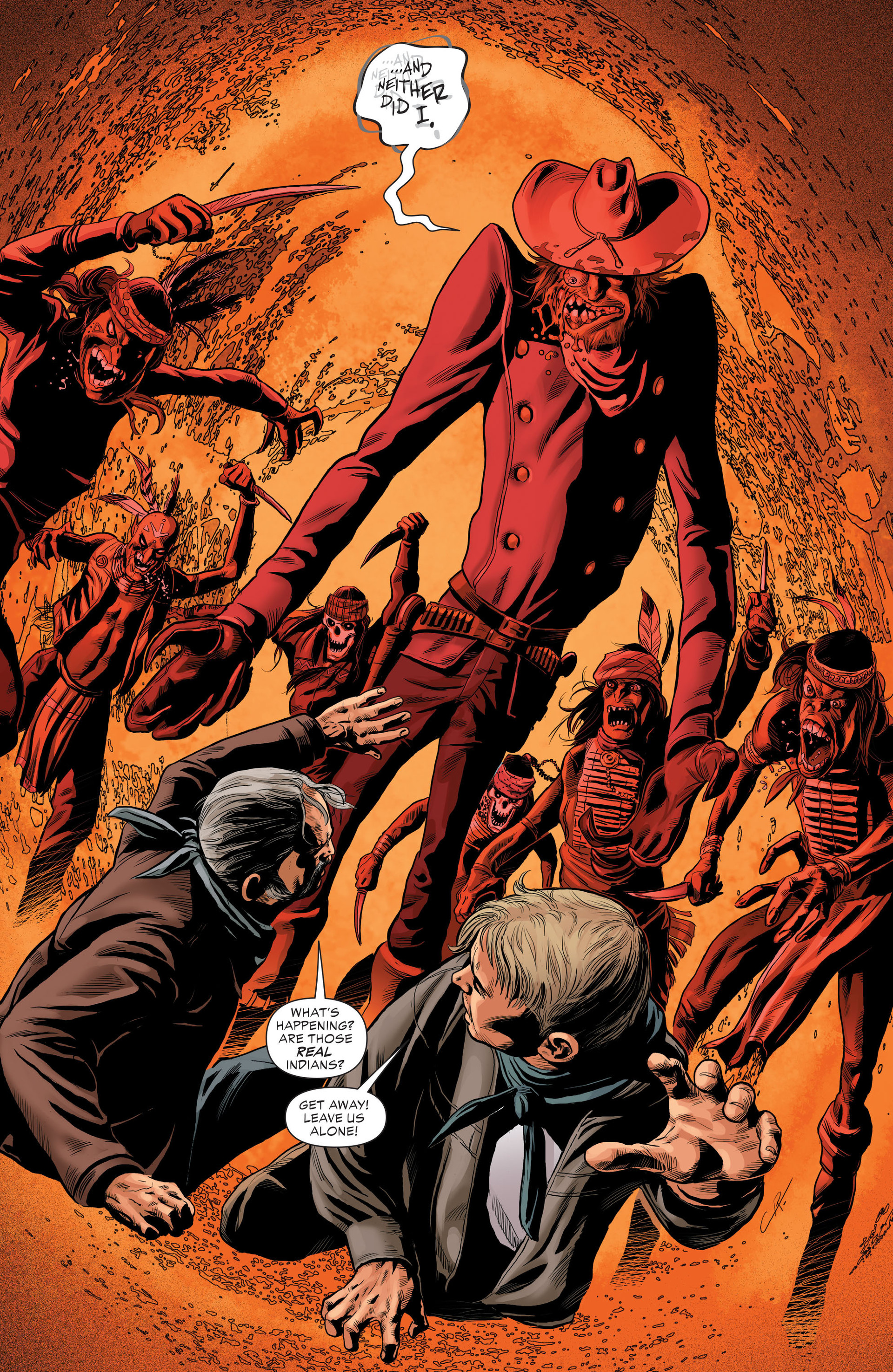 Read online All-Star Western (2011) comic -  Issue #29 - 18