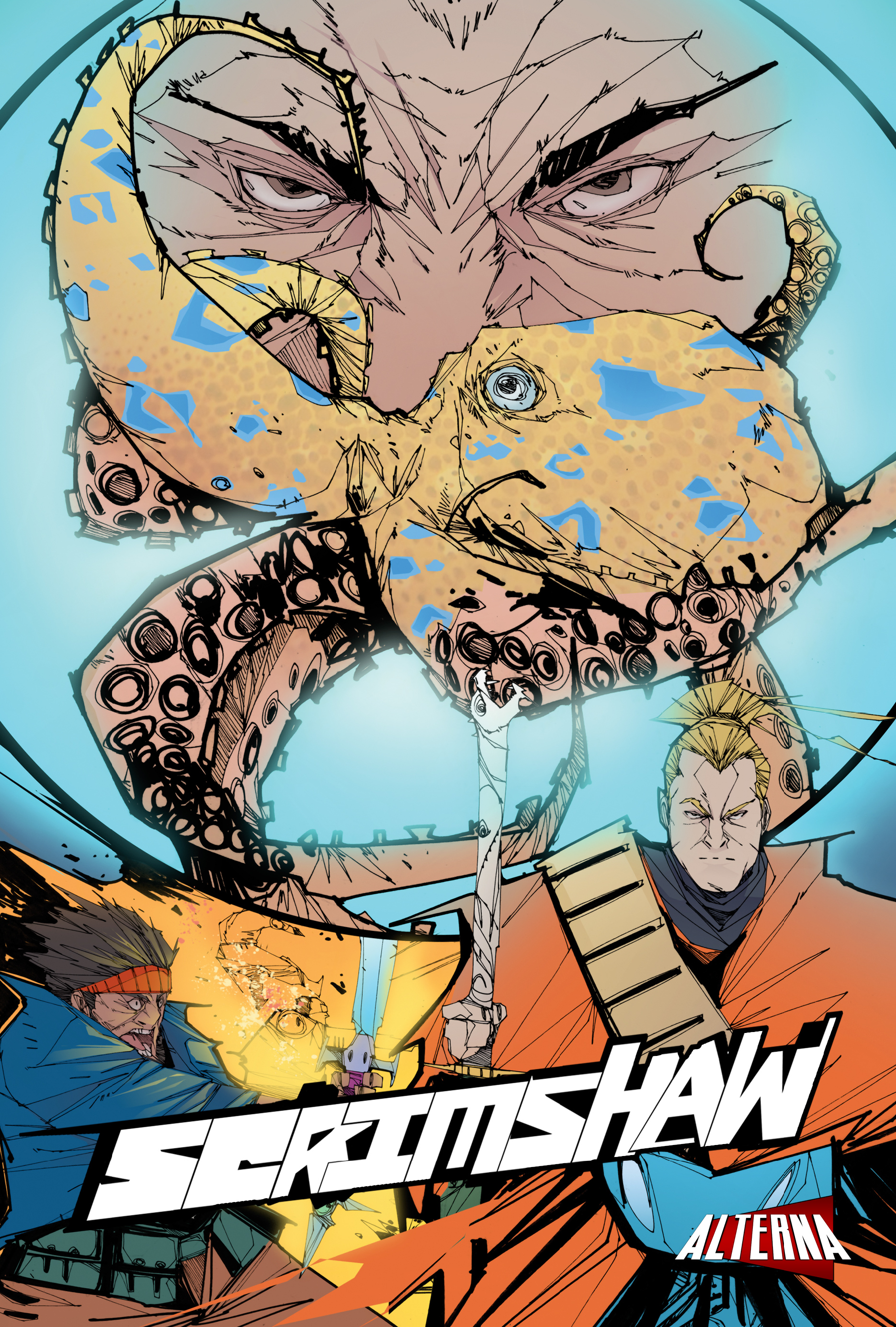 Read online Scrimshaw comic -  Issue #4 - 1