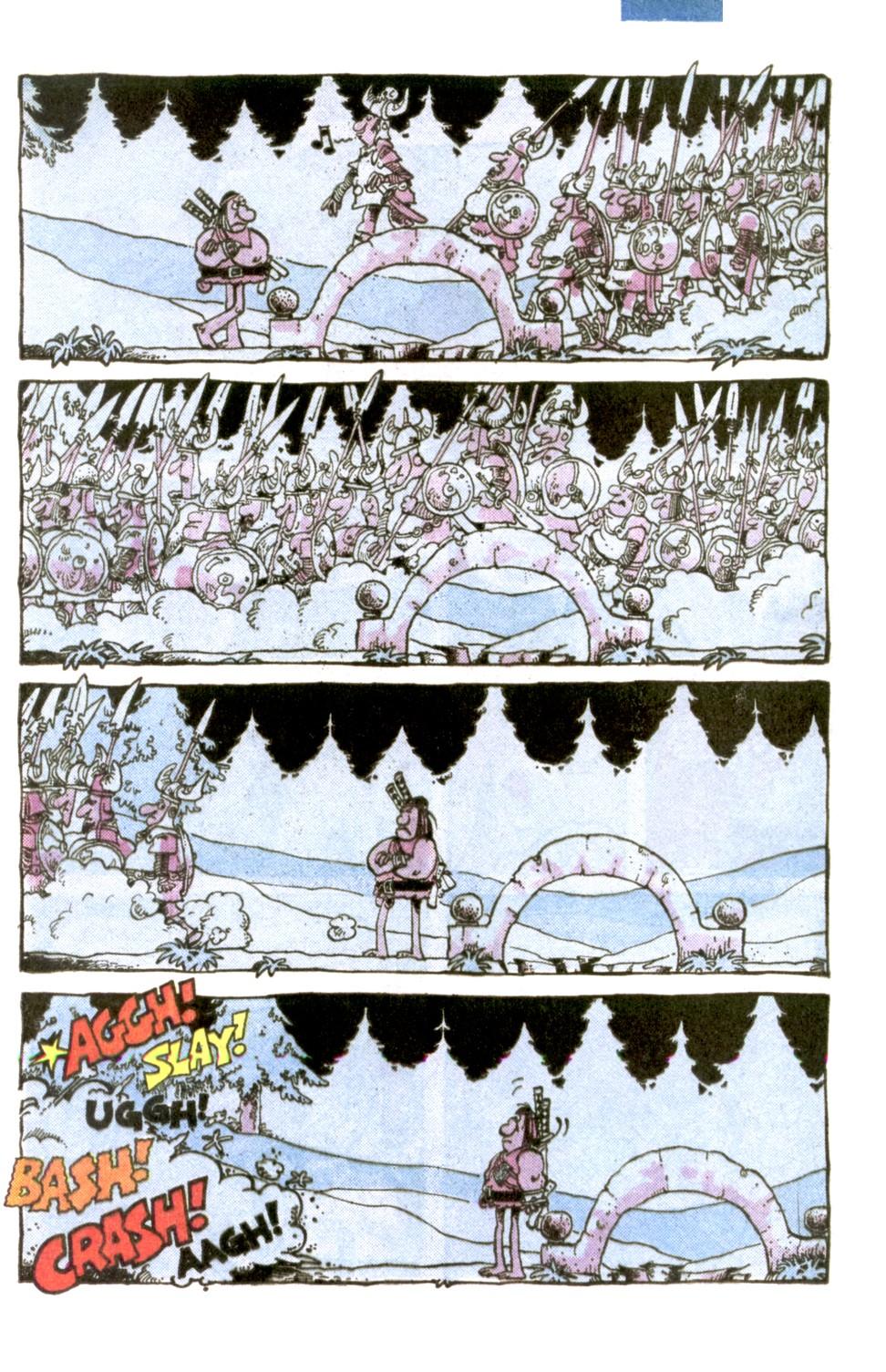 Read online Sergio Aragonés Groo the Wanderer comic -  Issue #1 - 11