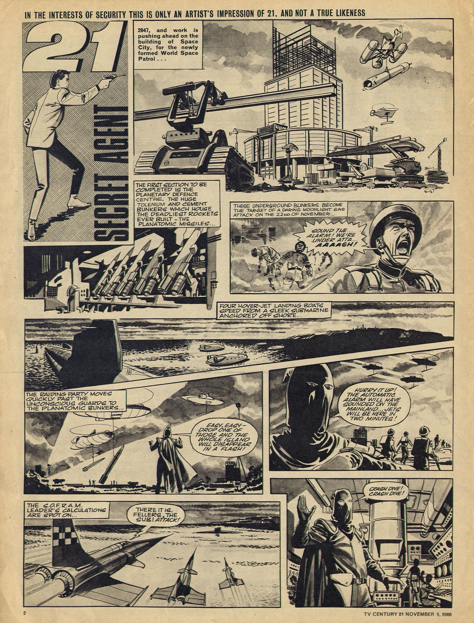 Read online TV Century 21 (TV 21) comic -  Issue #94 - 2