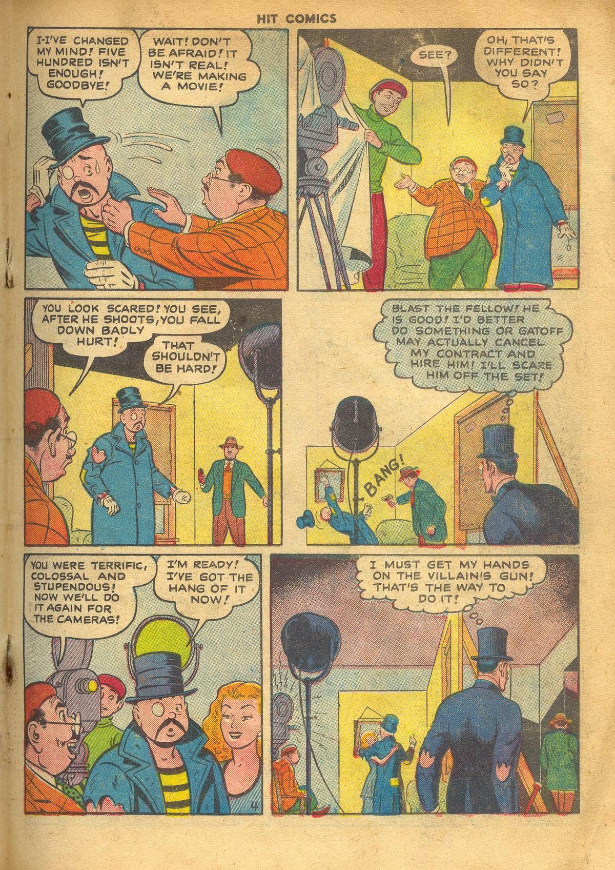 Read online Hit Comics comic -  Issue #60 - 19