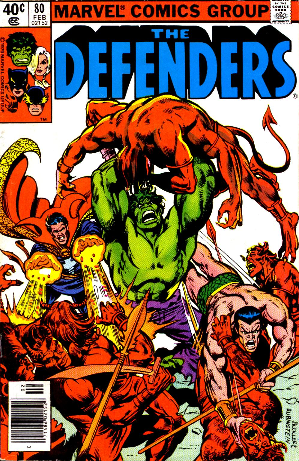 The Defenders (1972) 80 Page 1