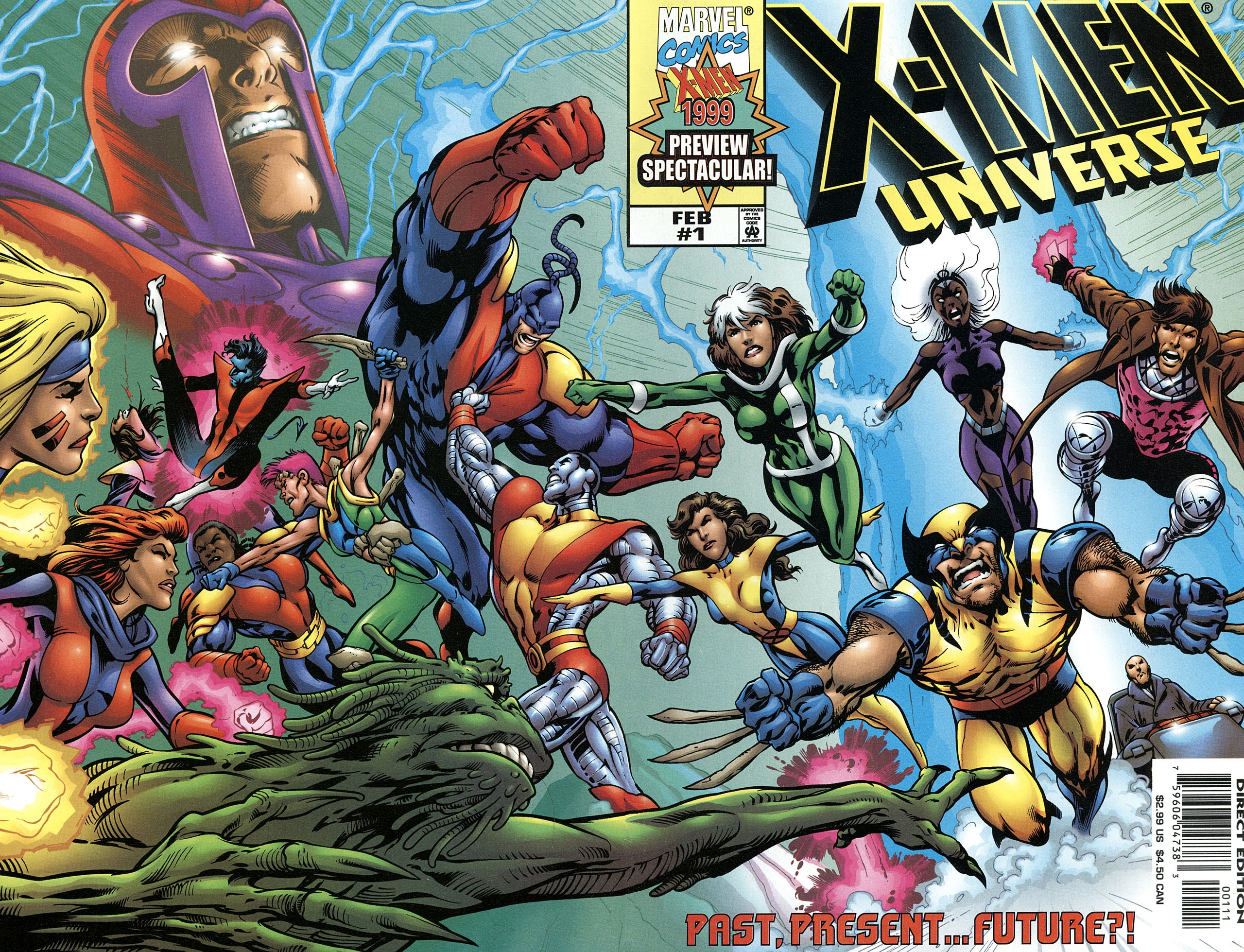 X-Men Universe: Past, Present and Future Full Page 1