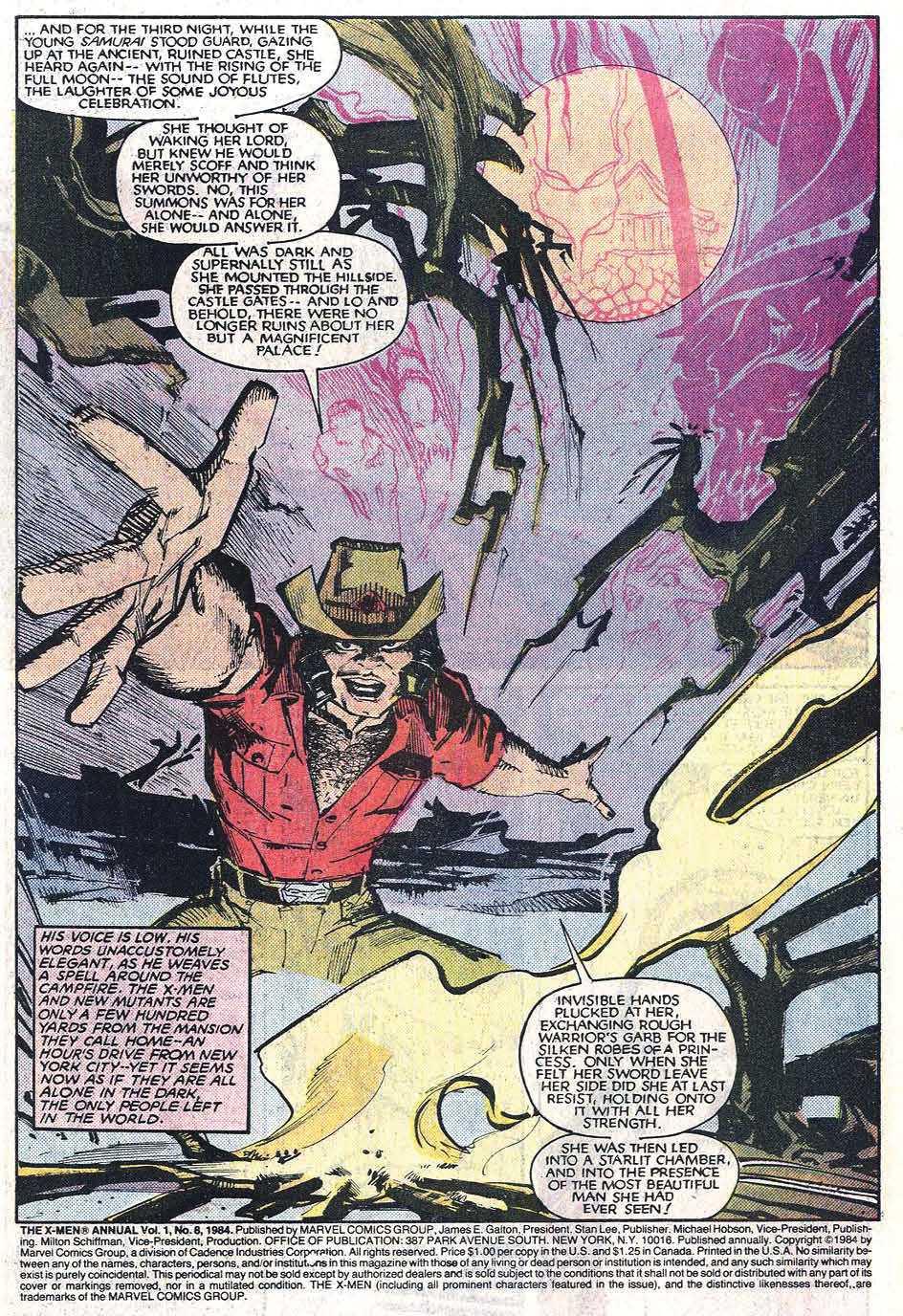 Read online Uncanny X-Men (1963) comic -  Issue # _Annual 8 - 3