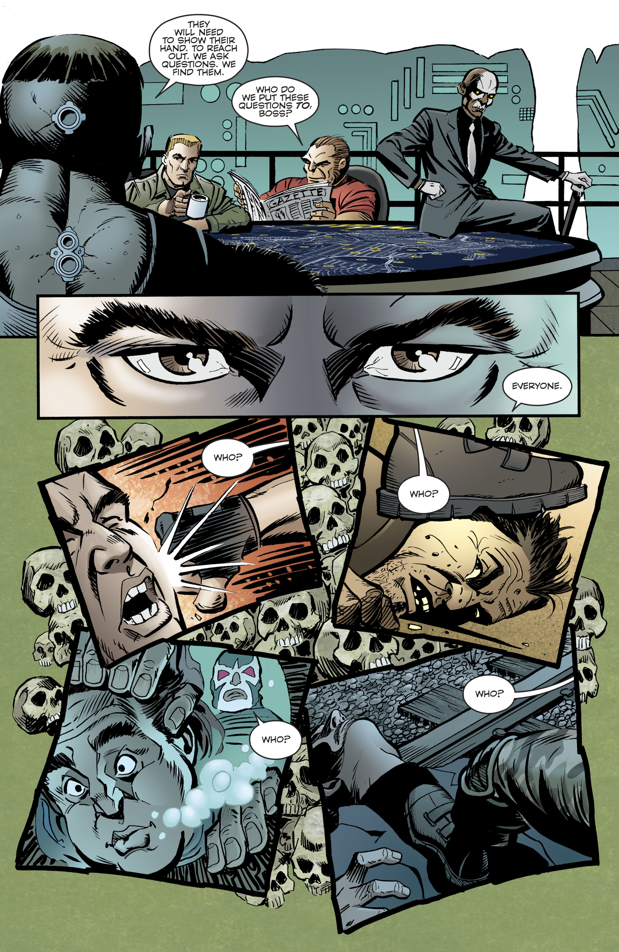 Read online Bane: Conquest comic -  Issue #1 - 13