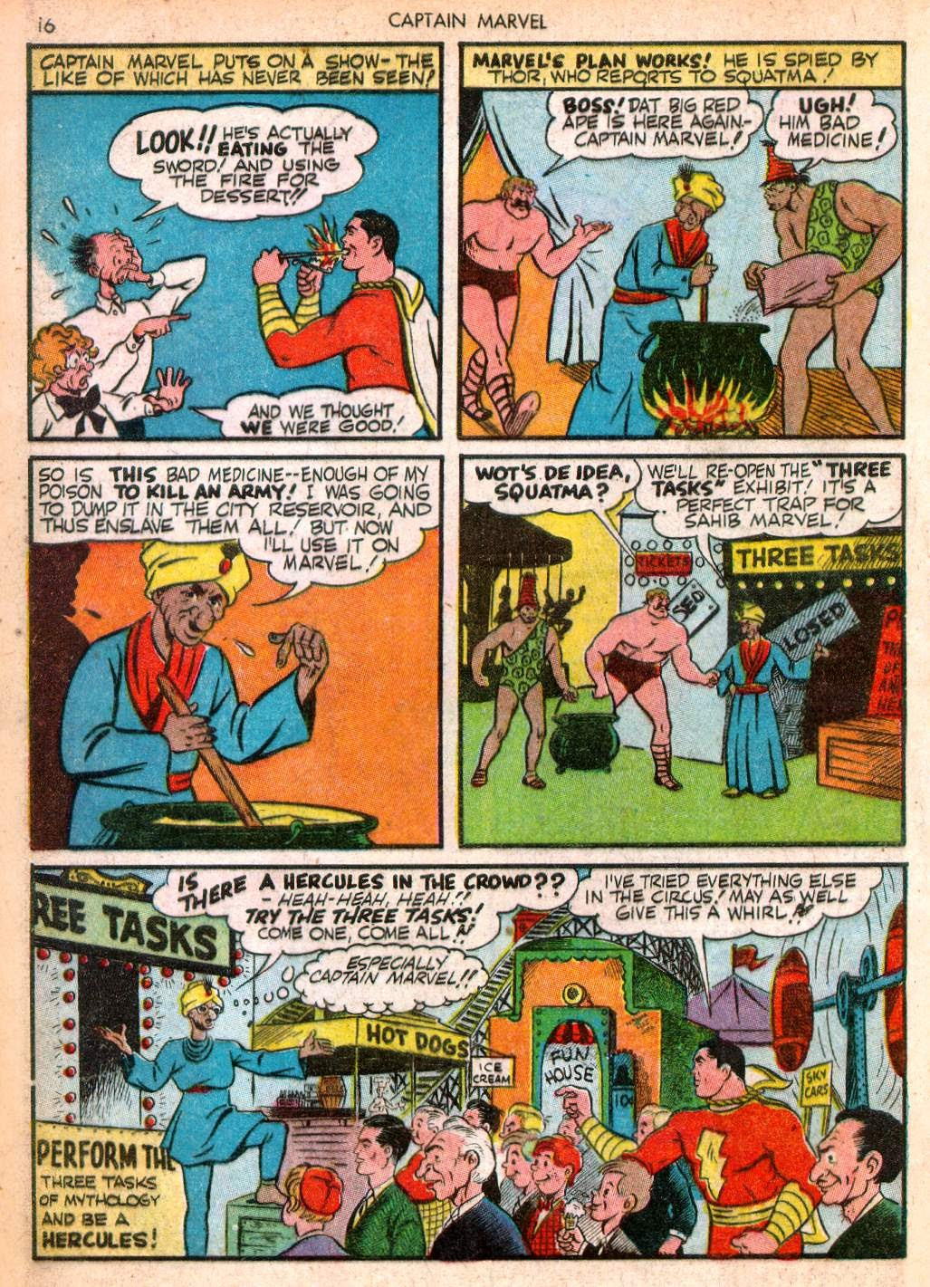 Captain Marvel Adventures issue 10 - Page 16