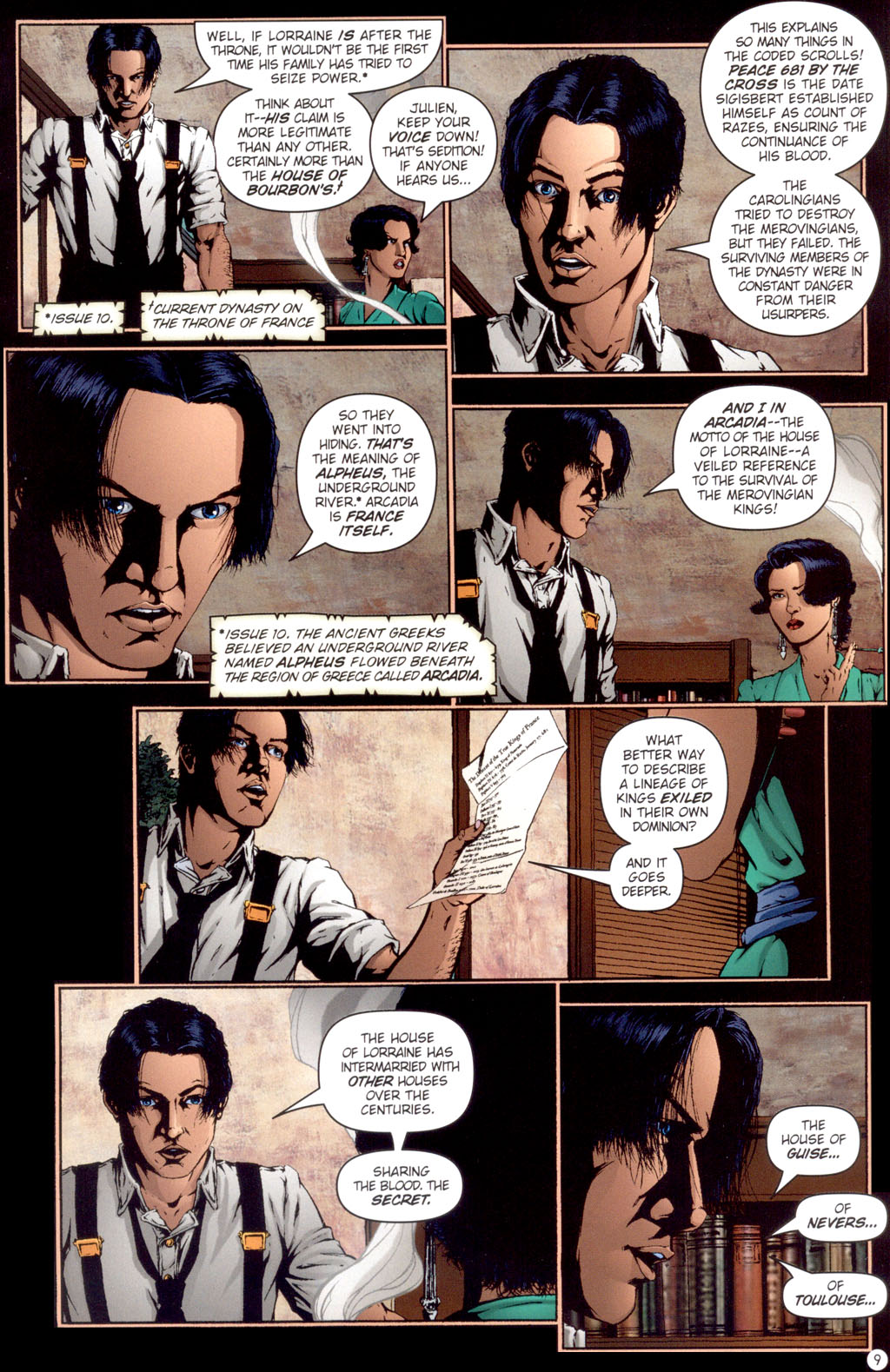 Read online Rex Mundi comic -  Issue #13 - 11