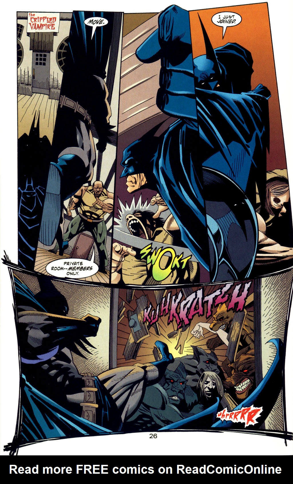 Read online Batman: Haunted Gotham comic -  Issue #2 - 28