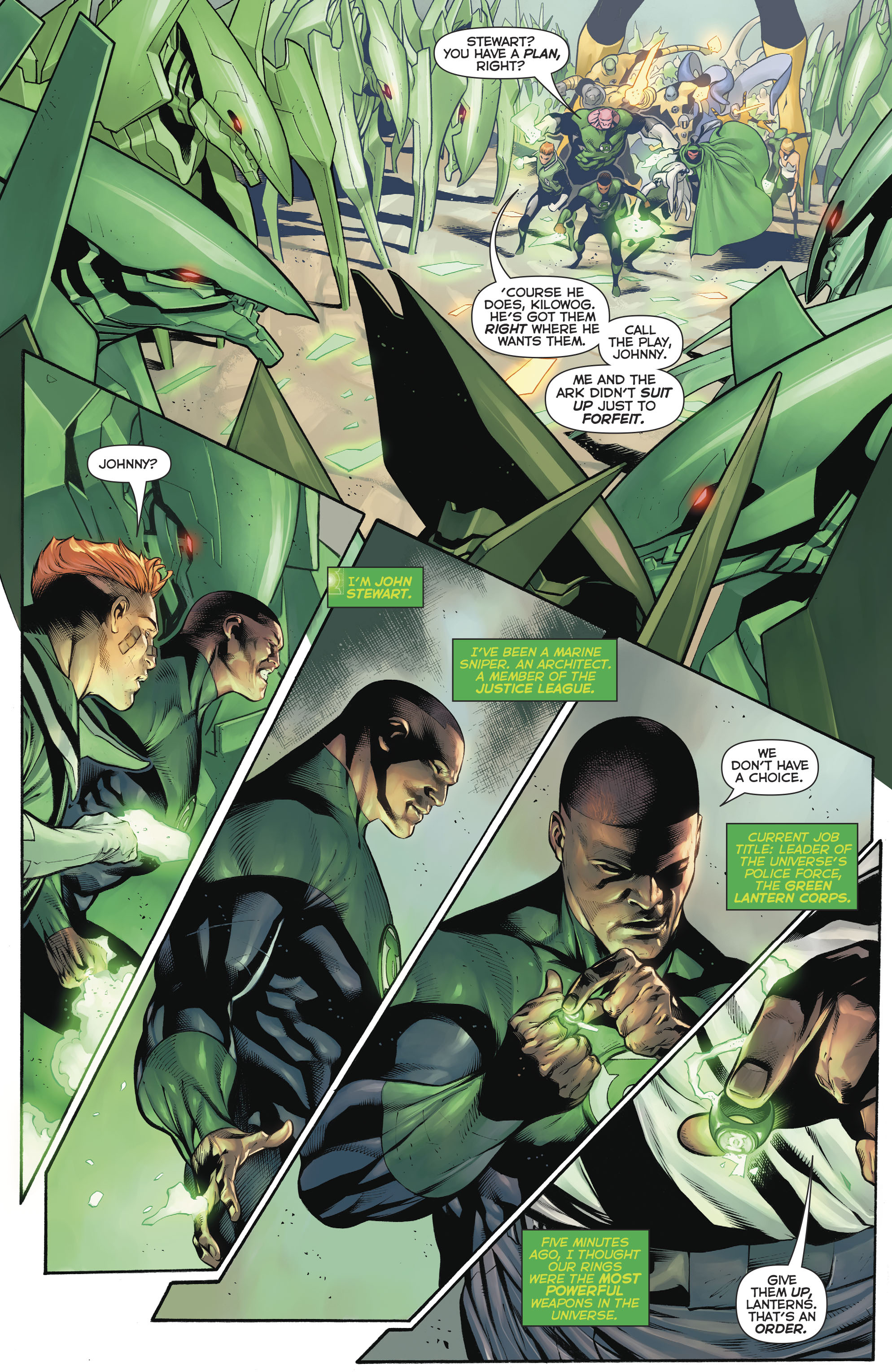 Read online Hal Jordan And The Green Lantern Corps comic -  Issue #20 - 20