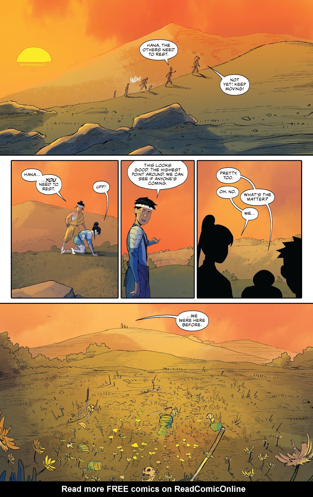 Read online Ronin Island comic -  Issue #8 - 12