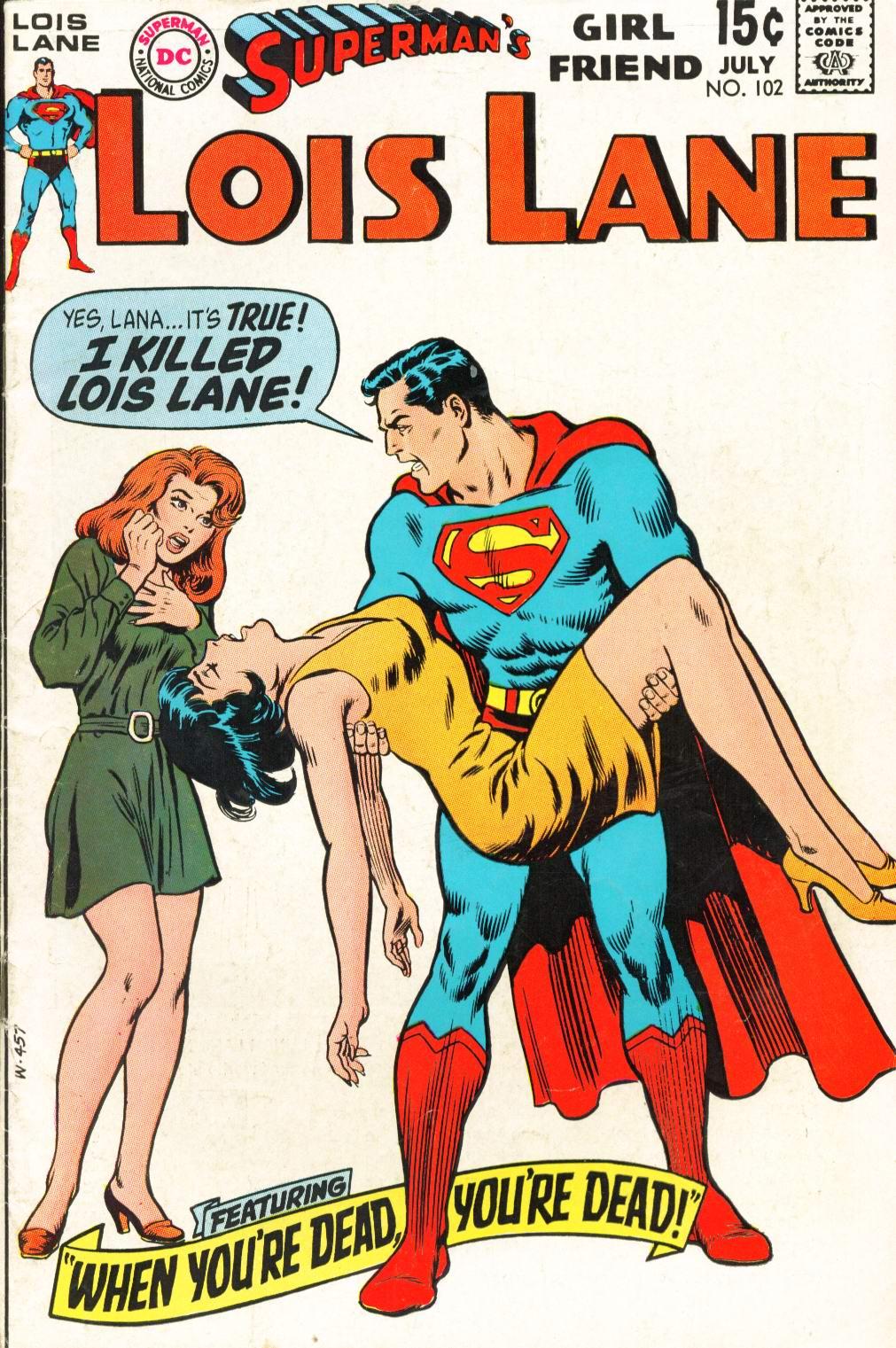 Supermans Girl Friend, Lois Lane 102 Page 1